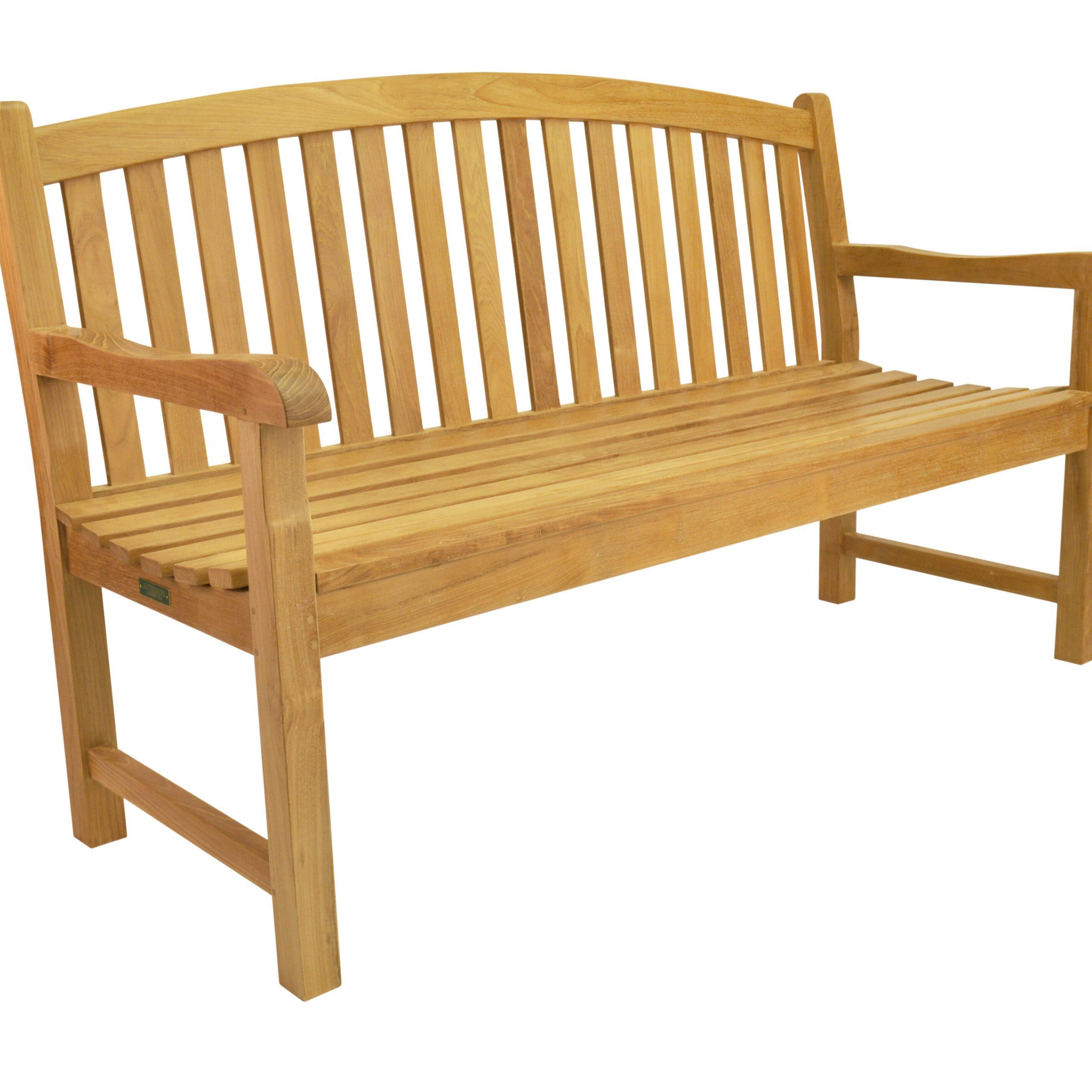 Chelsea Teak Garden Bench Intended For Wallie Teak Garden Benches (View 18 of 25)