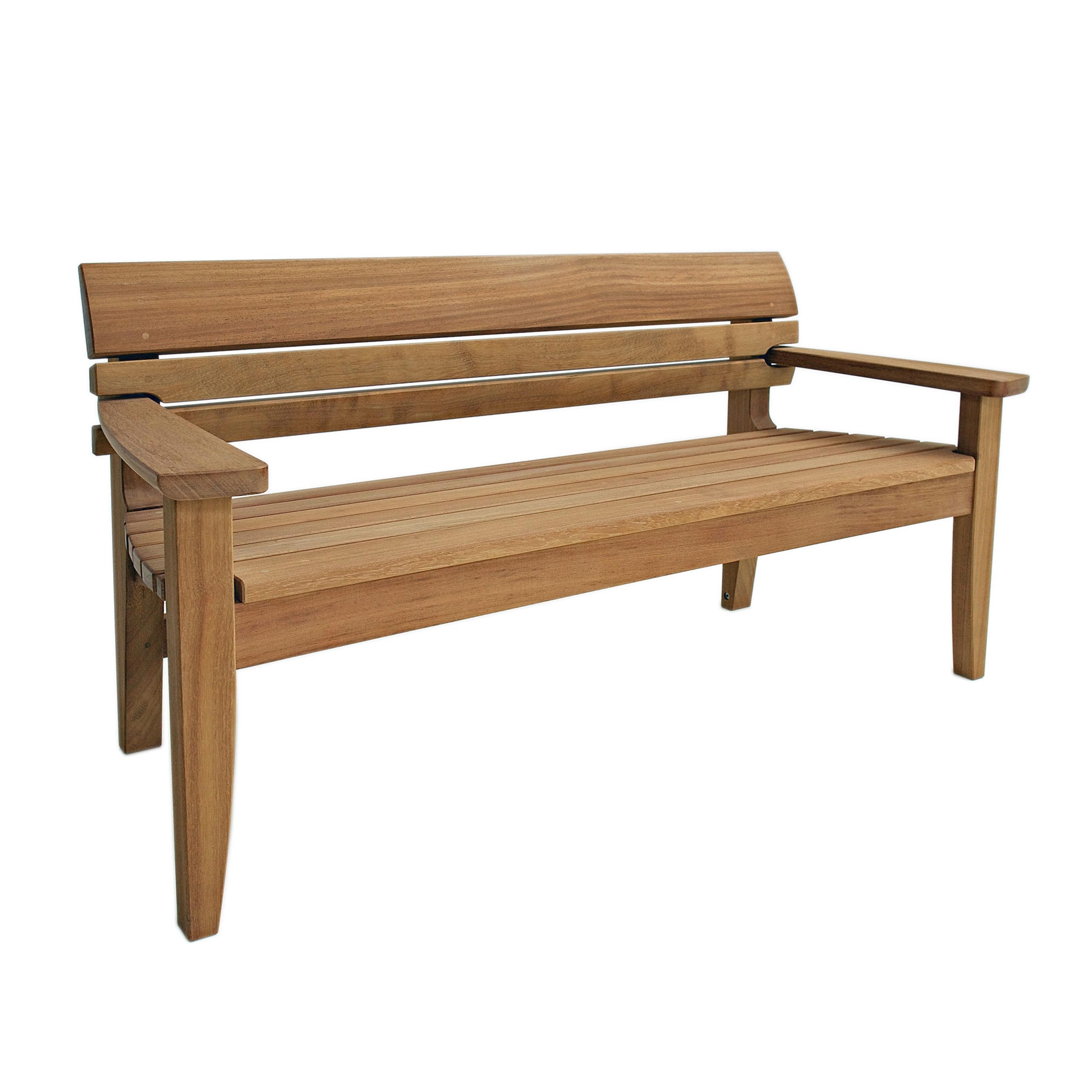 Chico Full Bench & Designer Furniture | Architonic With Regard To Pauls Steel Garden Benches (View 14 of 25)