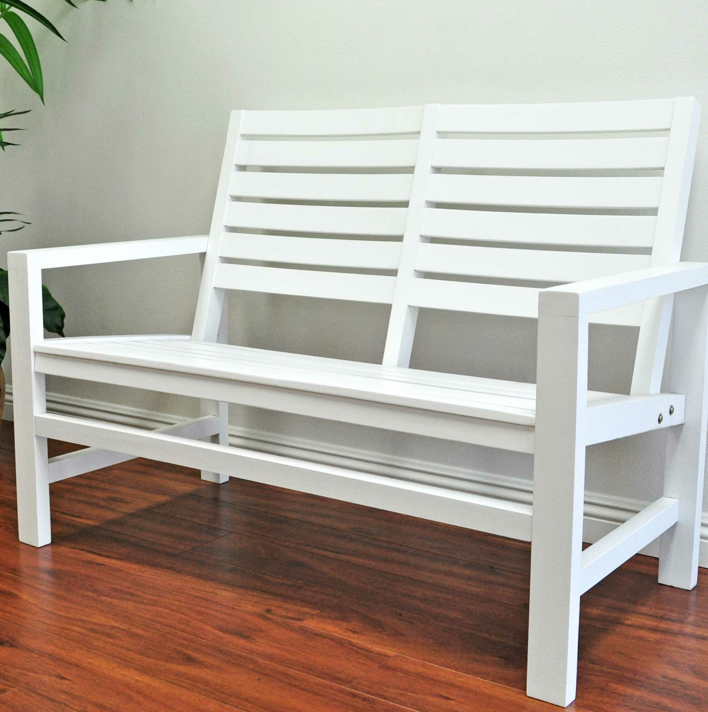 Country Garden Bench For Harpersfield Wooden Garden Benches (View 12 of 25)