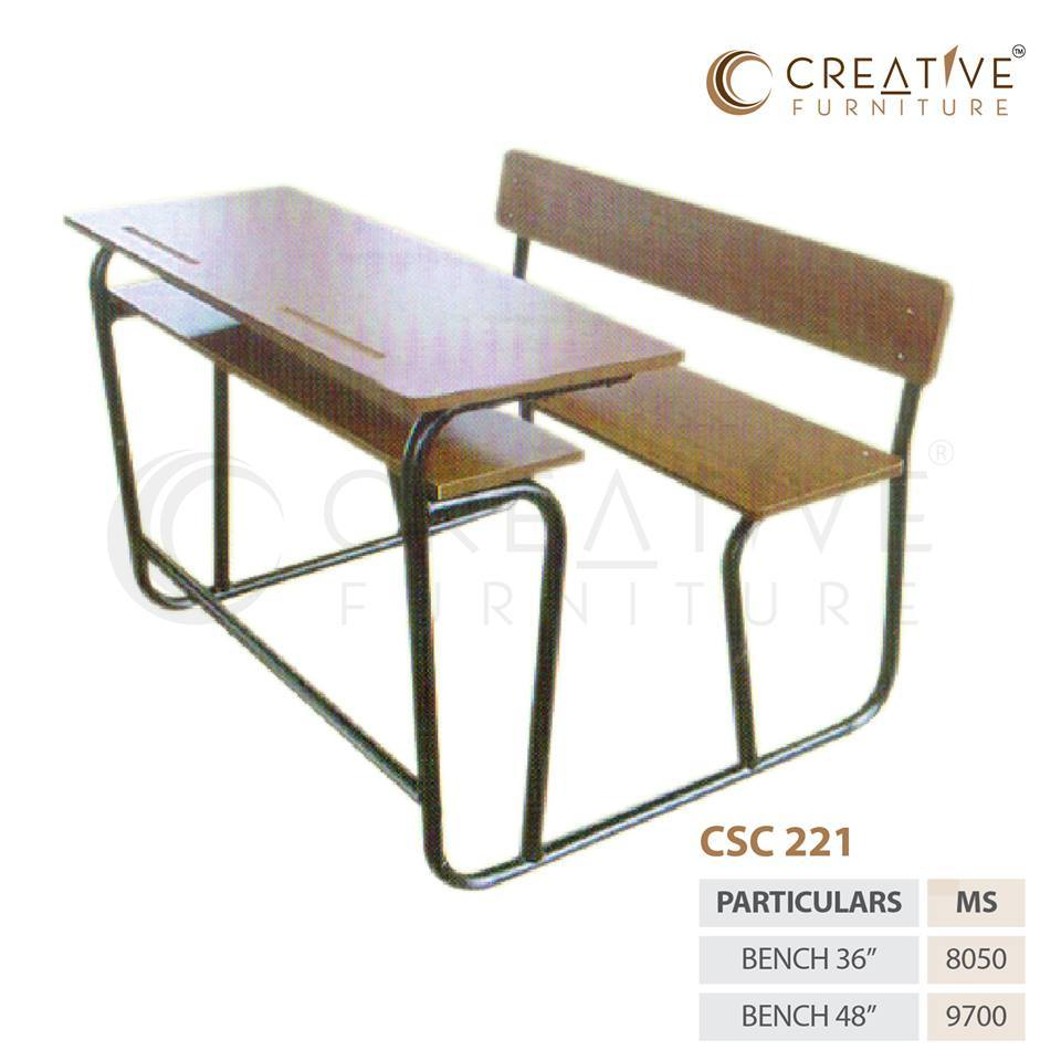 Creative Furniture Brown Wooden Steel Table, Rs 8050 /Piece Inside Ishan Steel Park Benches (View 20 of 25)