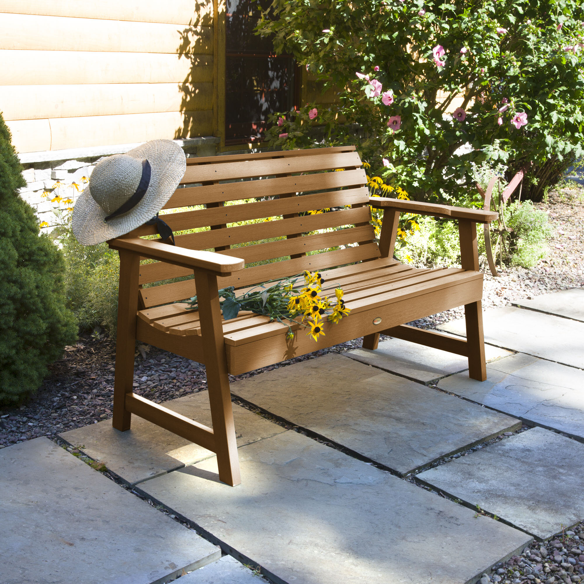 Curved Outdoor Outdoor Benches You'Ll Love In 2020 | Wayfair Within Coleen Outdoor Teak Garden Benches (View 9 of 25)