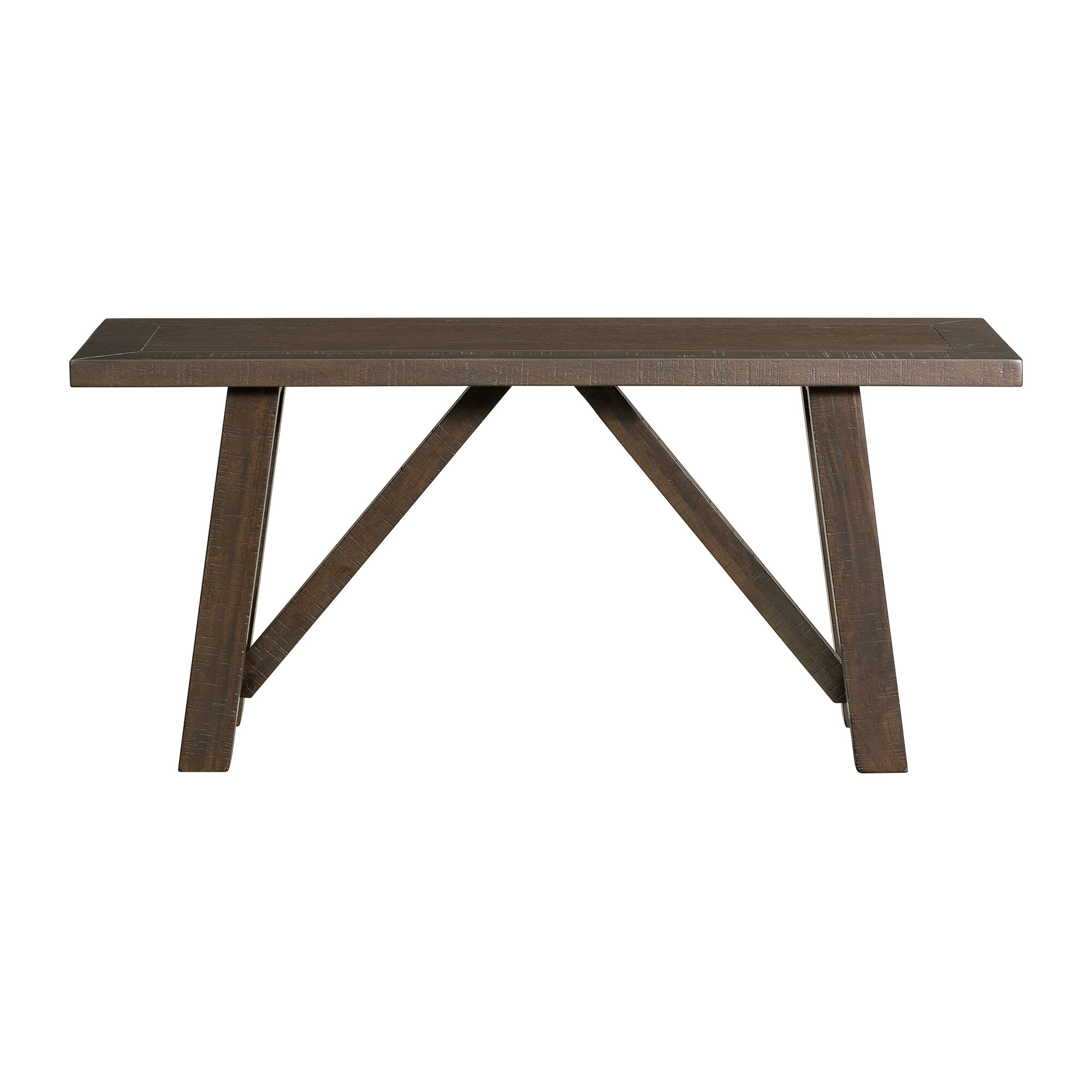 Discount Gilberto Wood Bench | Furniture Online Within Skoog Chevron Wooden Garden Benches (View 24 of 25)
