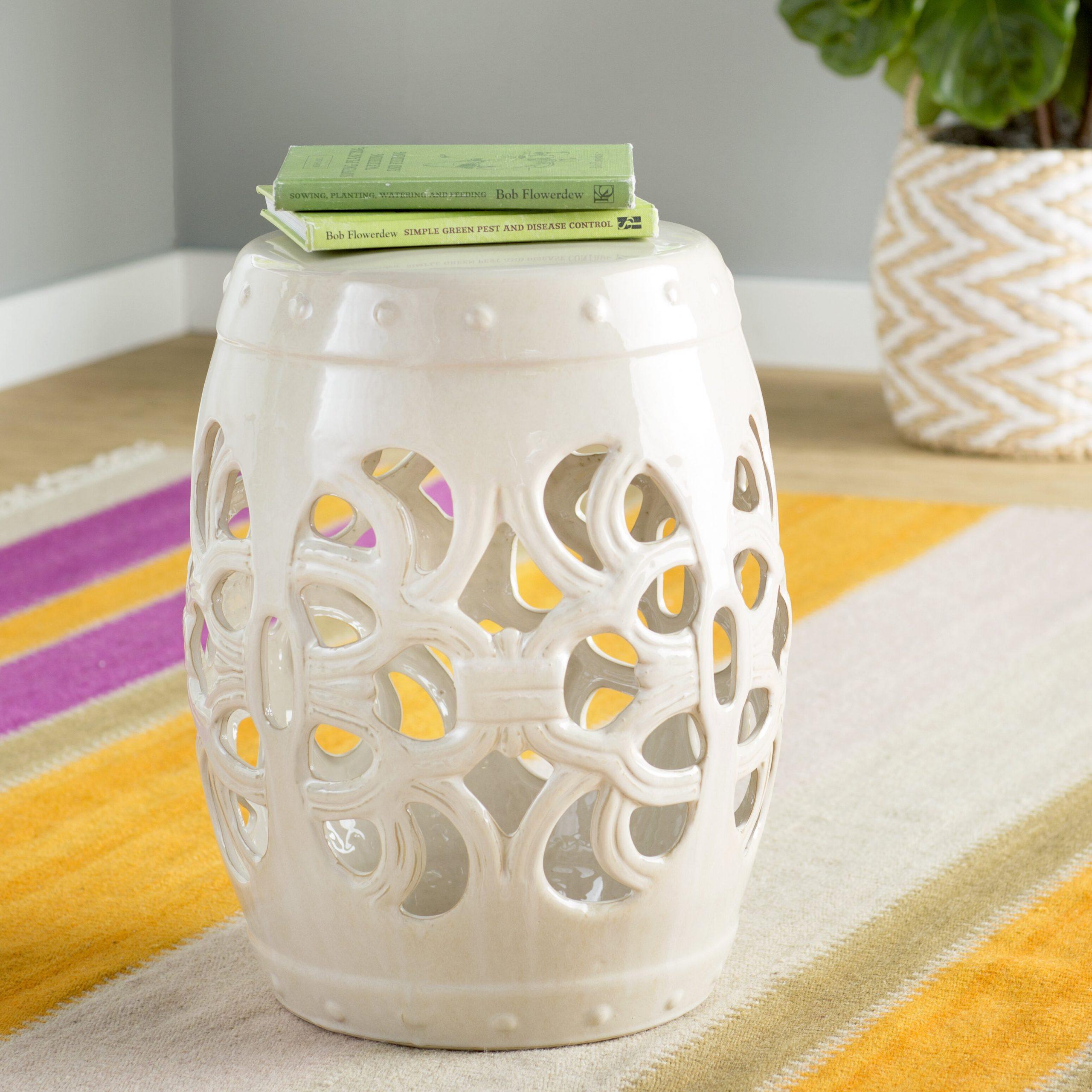 Donofrio Ceramic Garden Stool For Renee Porcelain Garden Stools (View 14 of 25)