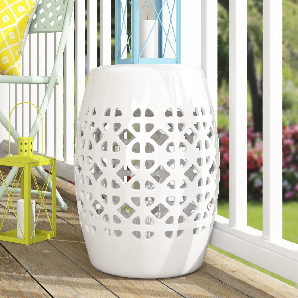 Dreyer Ceramic Garden Stool With Harwich Ceramic Garden Stools (View 6 of 25)