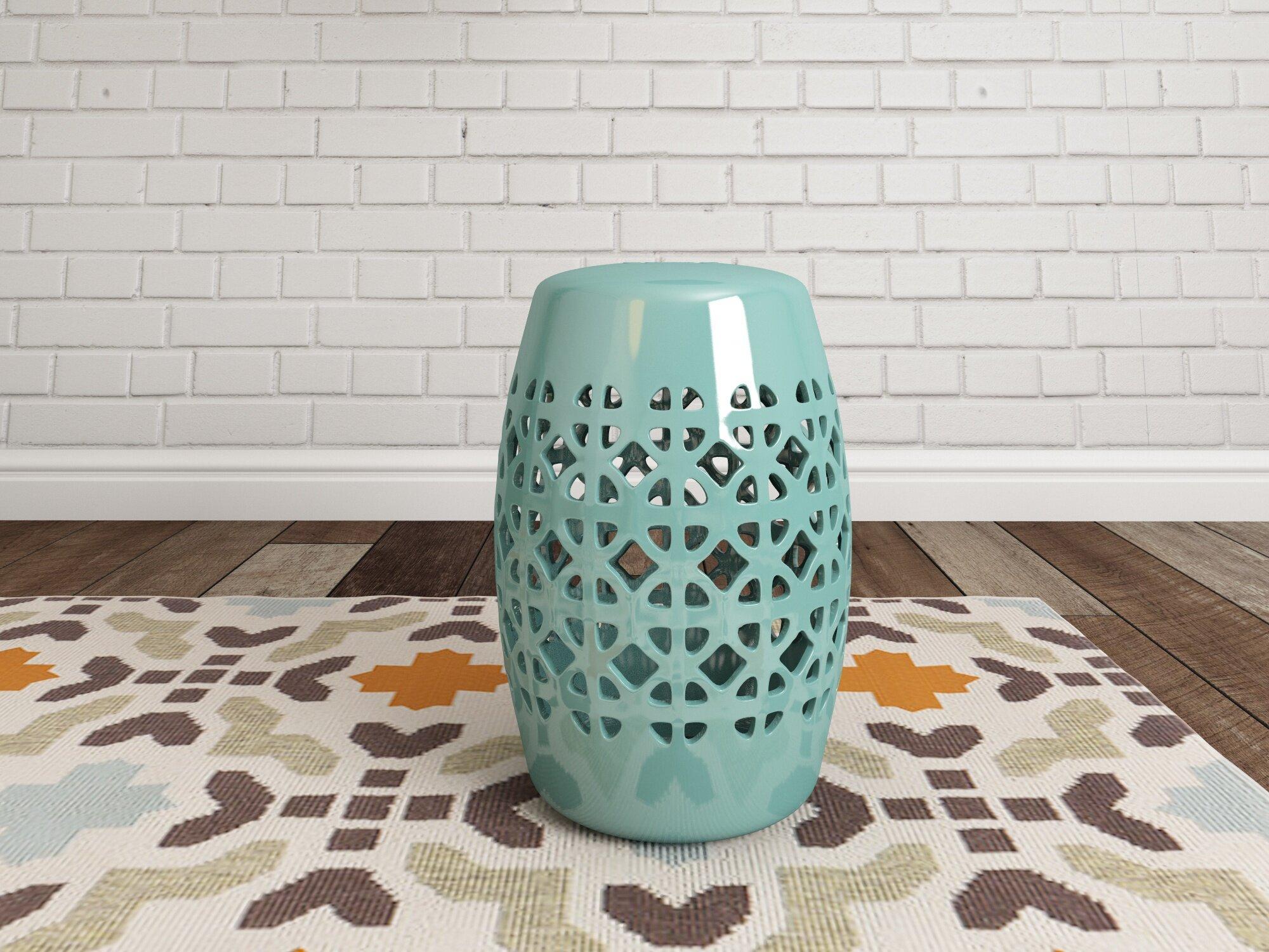 Dreyer Ceramic Garden Stool Within Feliciana Ceramic Garden Stools (View 25 of 25)