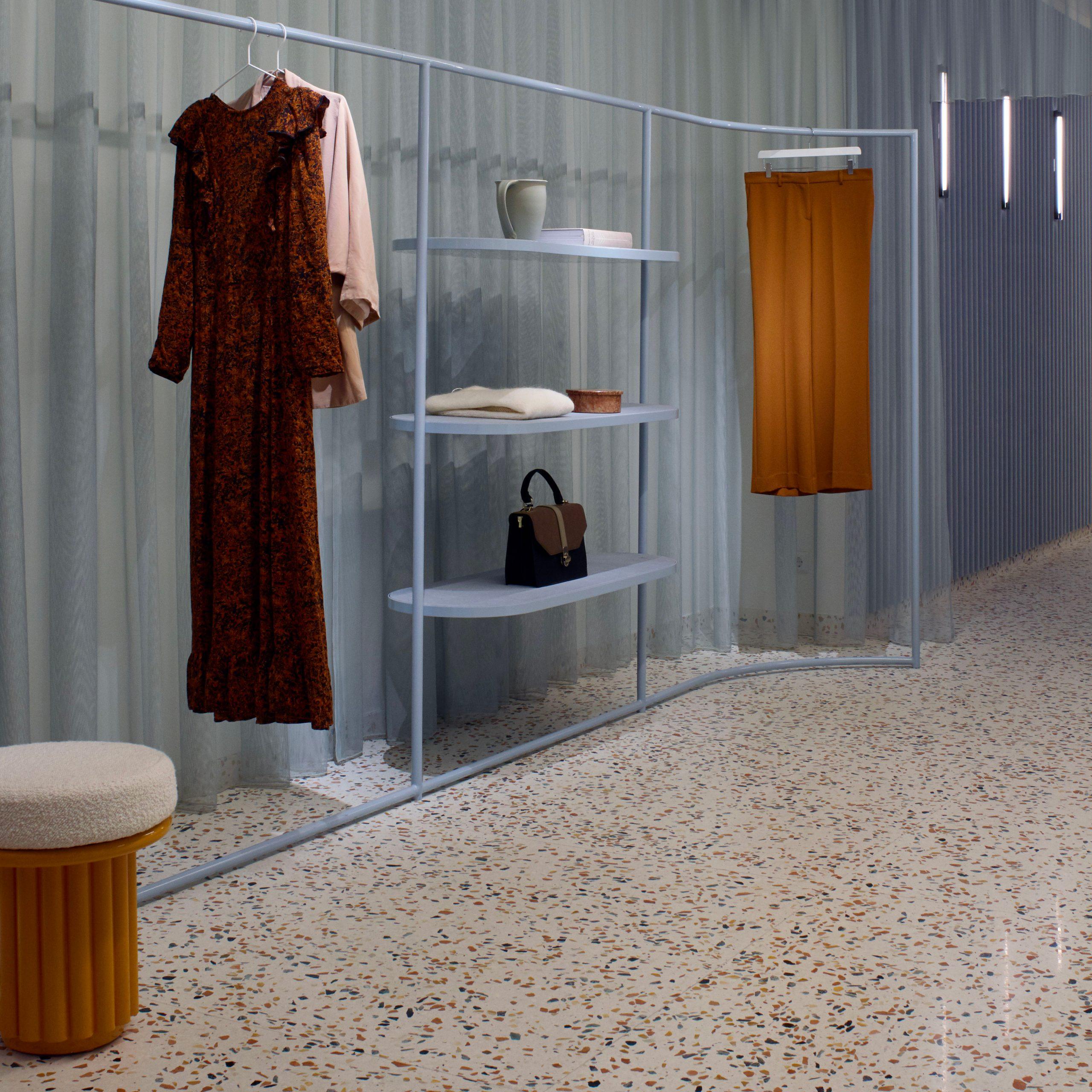 Elena Mora Designed A Contrasting Concept Store For Manalena Regarding Engelhardt Ceramic Garden Stools (View 21 of 25)