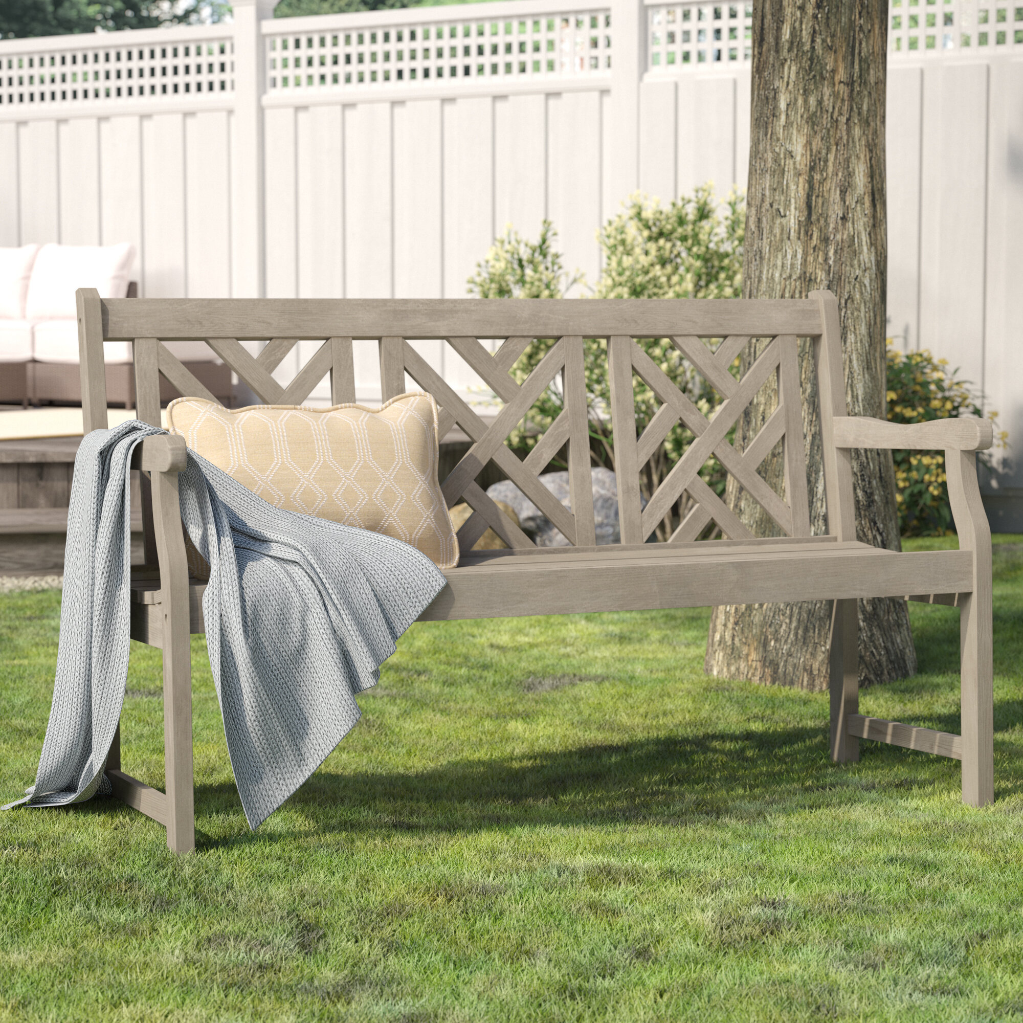 Featured Image of Elsner Acacia Garden Benches