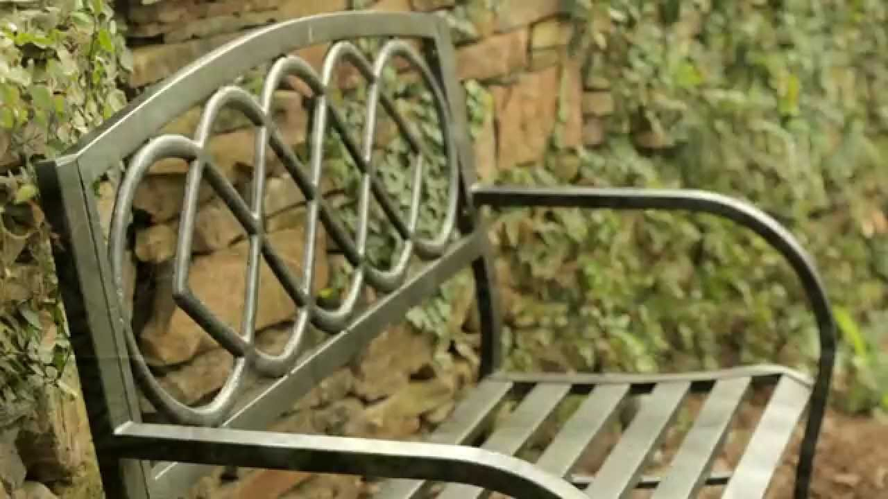 Five Patio Or Garden Metal Benches | With Regard To Celtic Knot Iron Garden Benches (View 19 of 25)