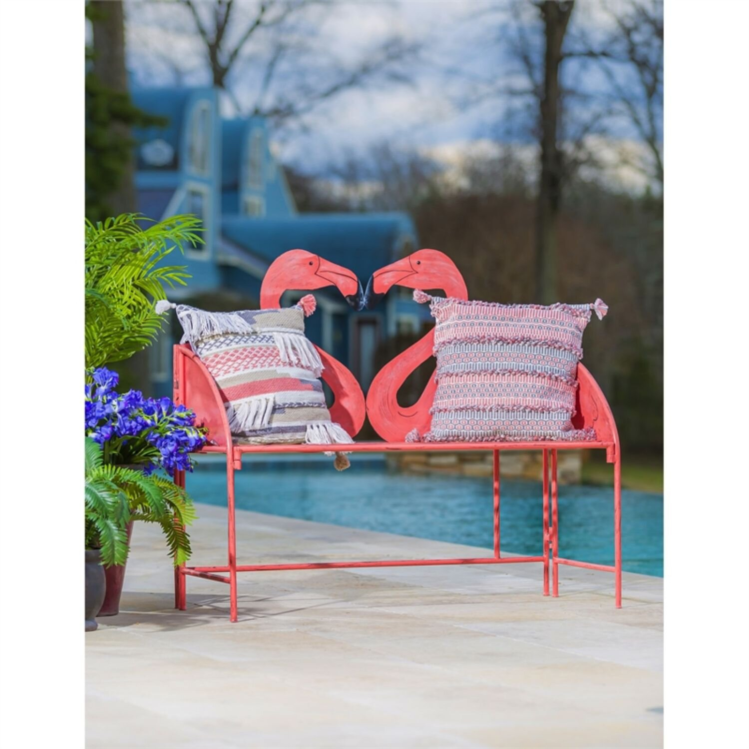 Featured Image of Flamingo Metal Garden Benches