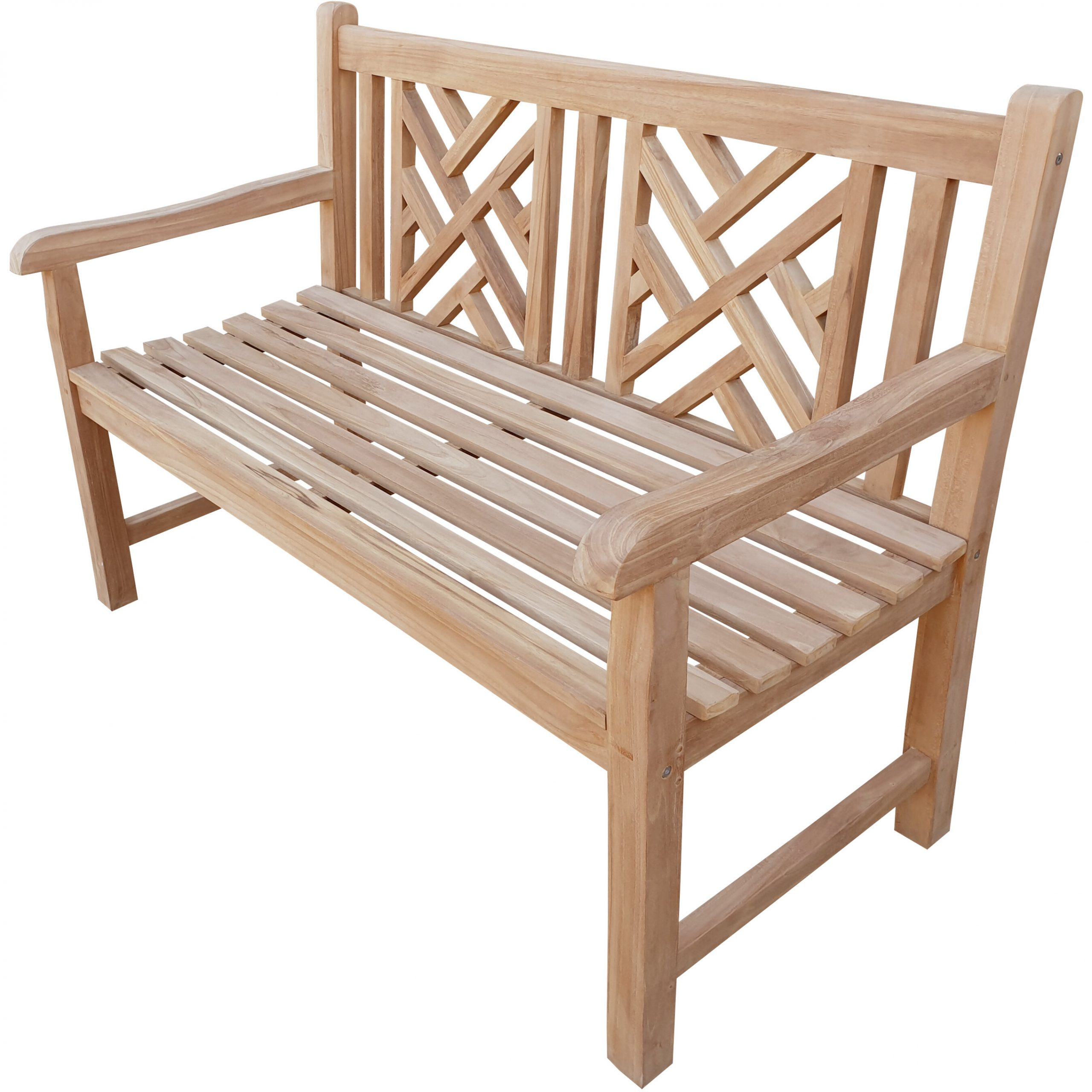 Freya Teak Garden Bench Regarding Hampstead Teak Garden Benches (View 14 of 25)