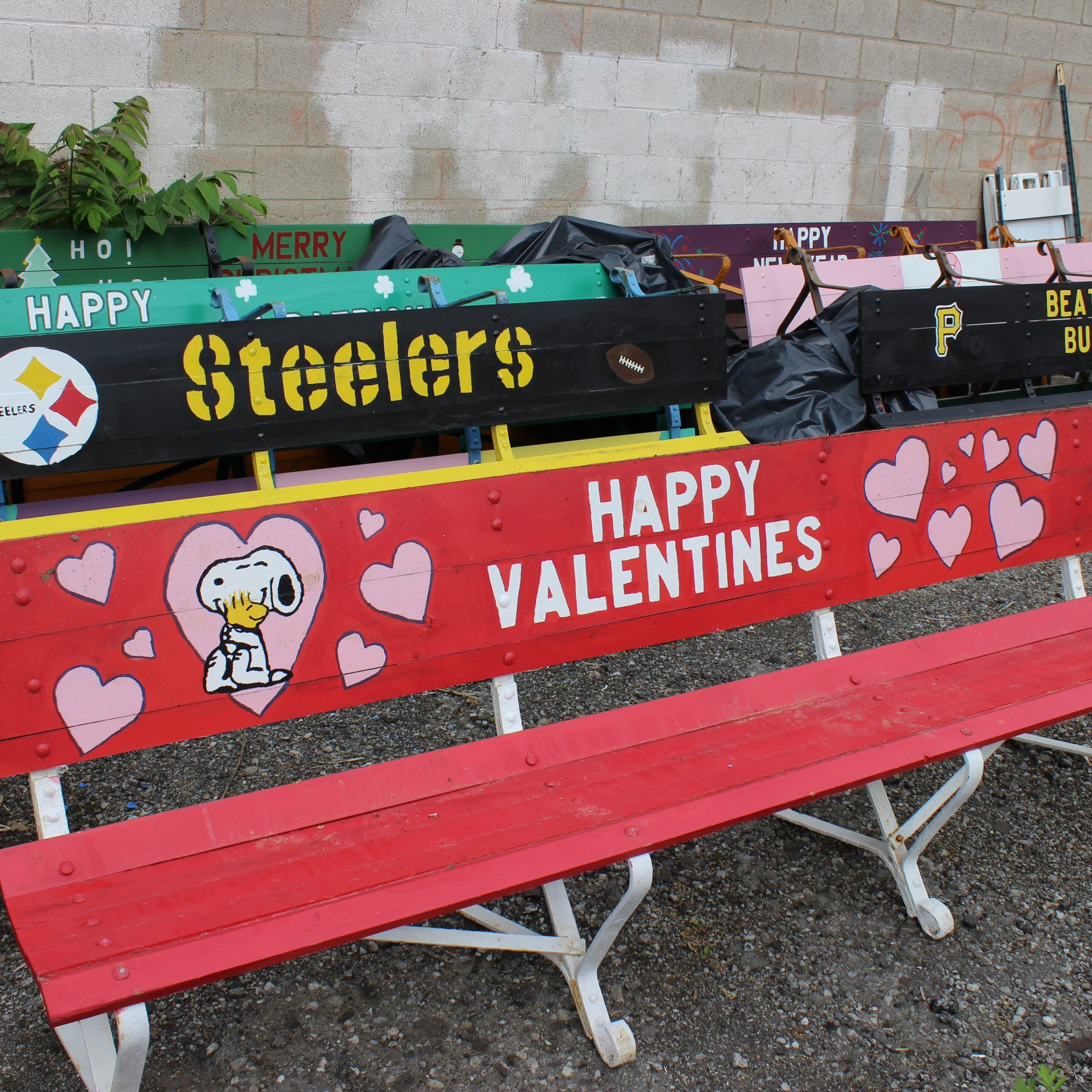From Shamrocks To Stanley Cups: The Story Behind The For Heslin Steel Park Benches (View 20 of 25)