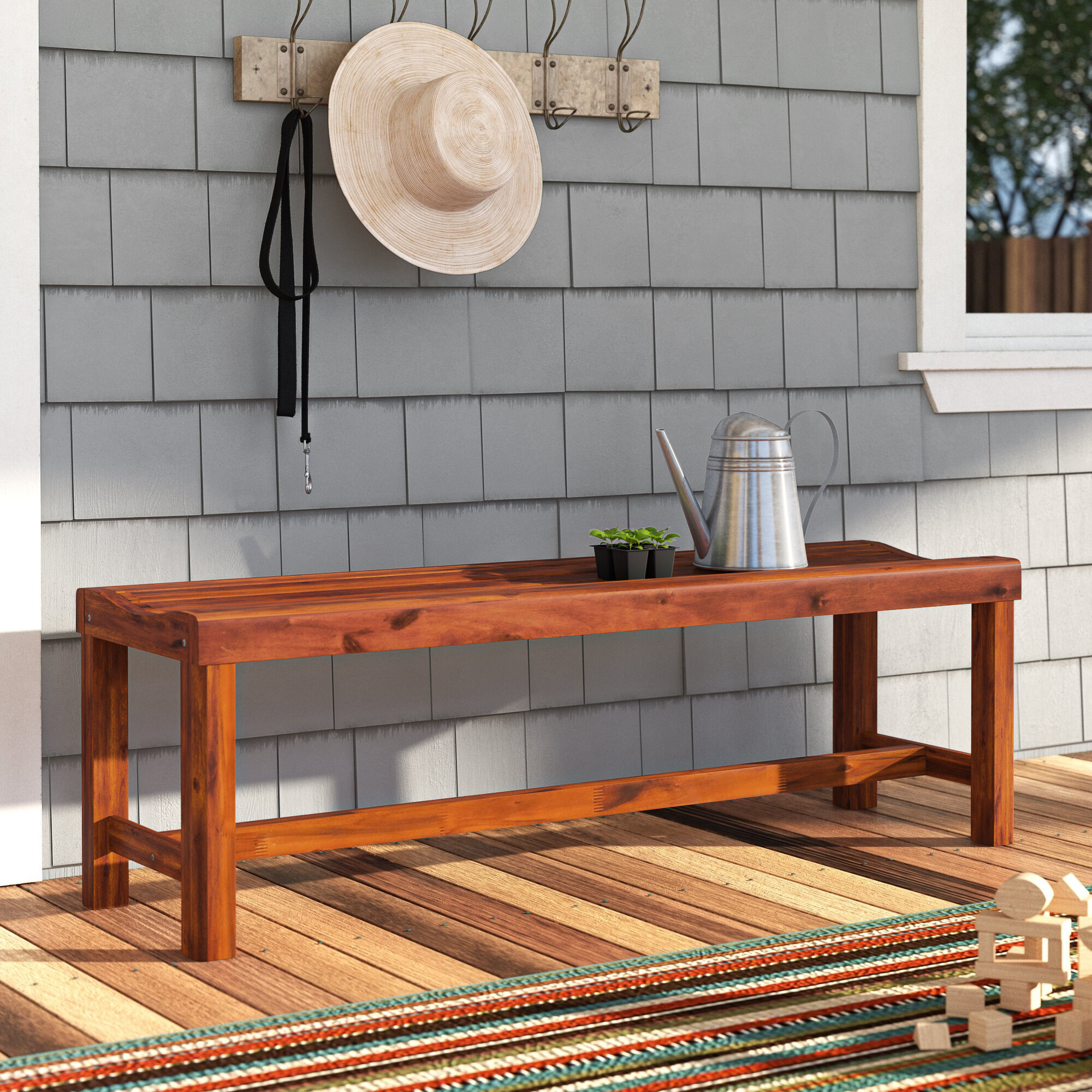 Featured Image of Gabbert Wooden Garden Benches