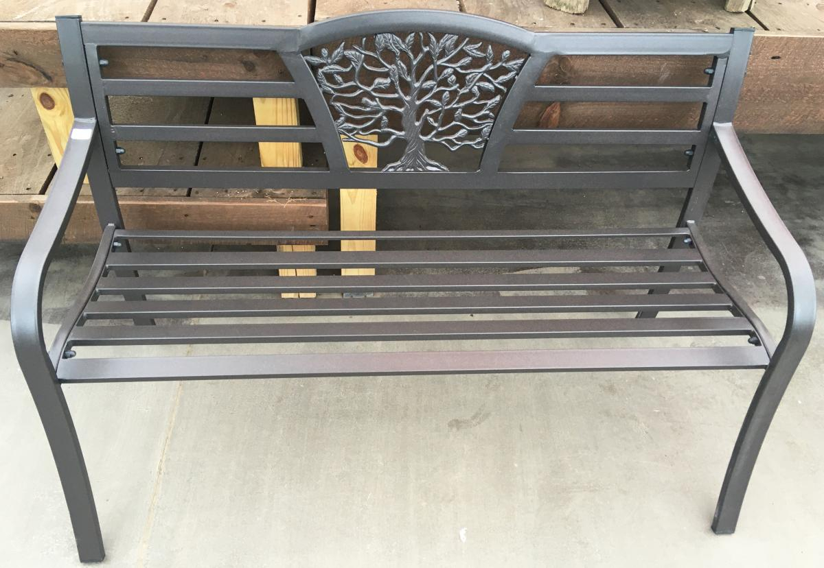 Garden Benches | Garden Barn For Tree Of Life Iron Garden Benches (View 9 of 25)