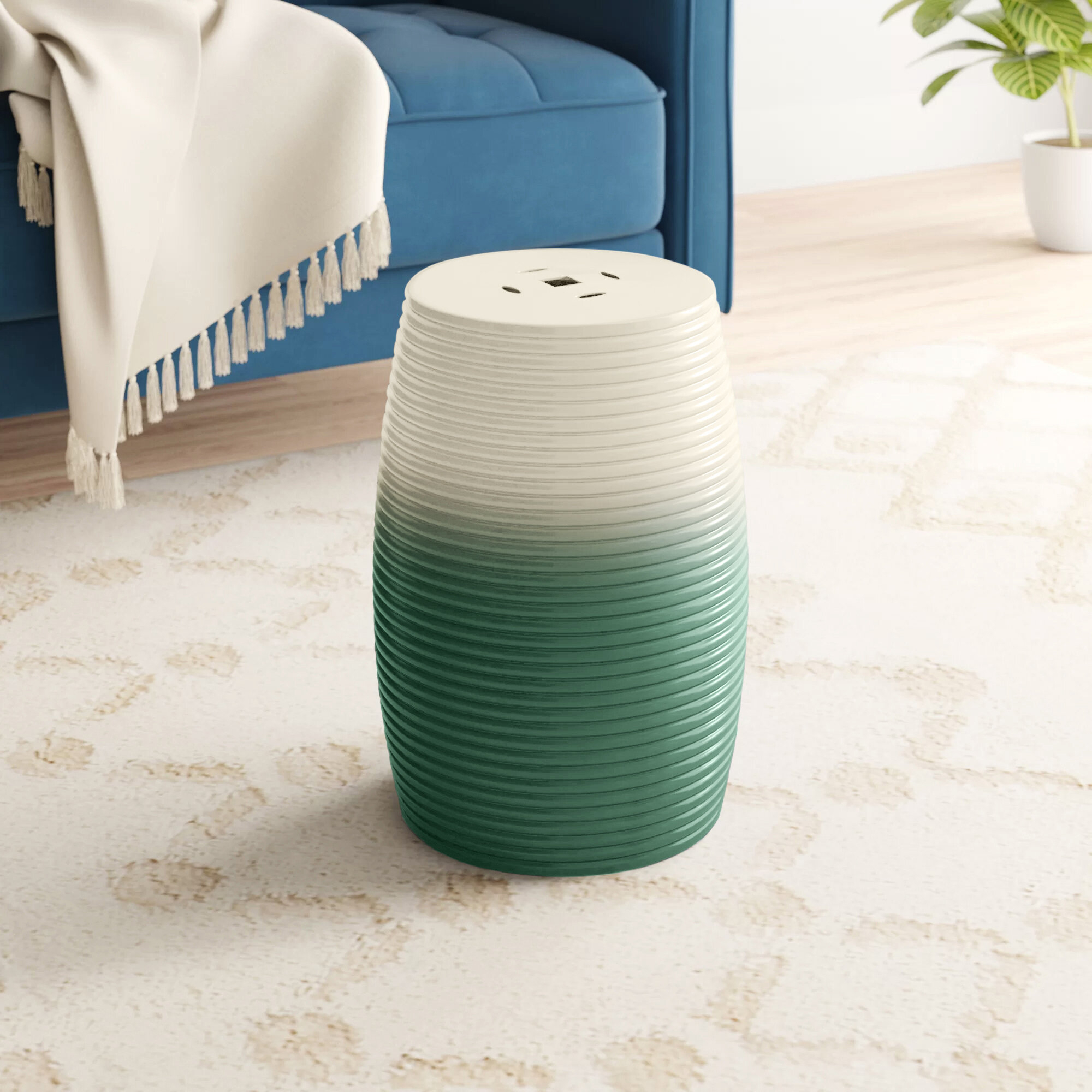 Garden Green Accent Stools You'Ll Love In 2020 | Wayfair Pertaining To Glendale Heights Birds And Butterflies Garden Stools (View 3 of 25)