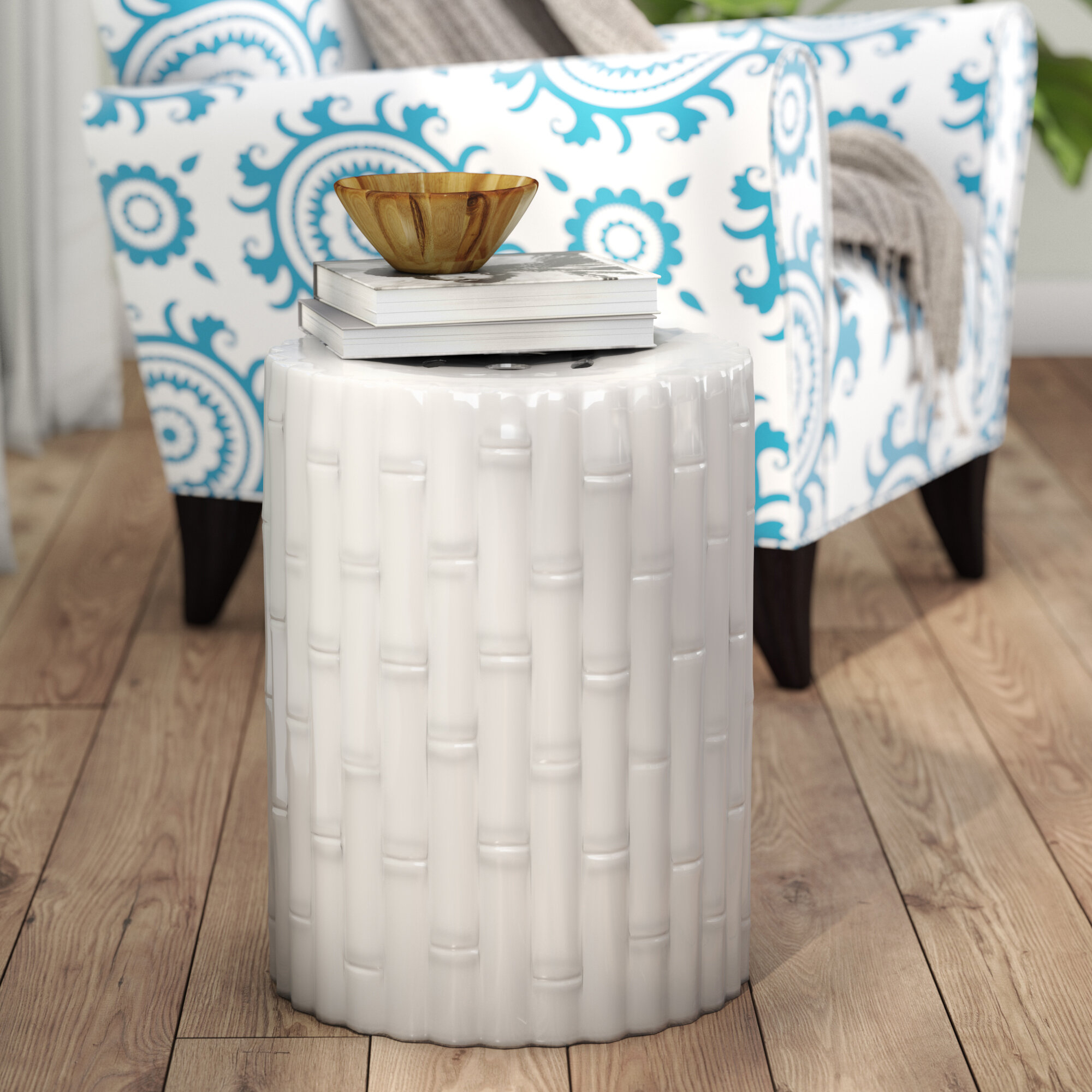 Garden Outdoor Accent Stools You'Ll Love In 2020 | Wayfair Within Arista Ceramic Garden Stools (View 8 of 25)