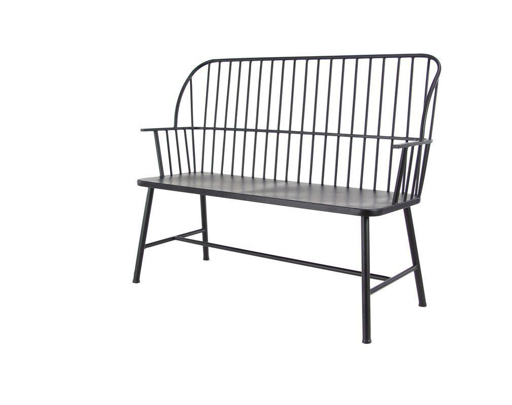 Gehlert Traditional Patio Iron Garden Bench | Garden Bench With Regard To Gehlert Traditional Patio Iron Garden Benches (View 3 of 25)