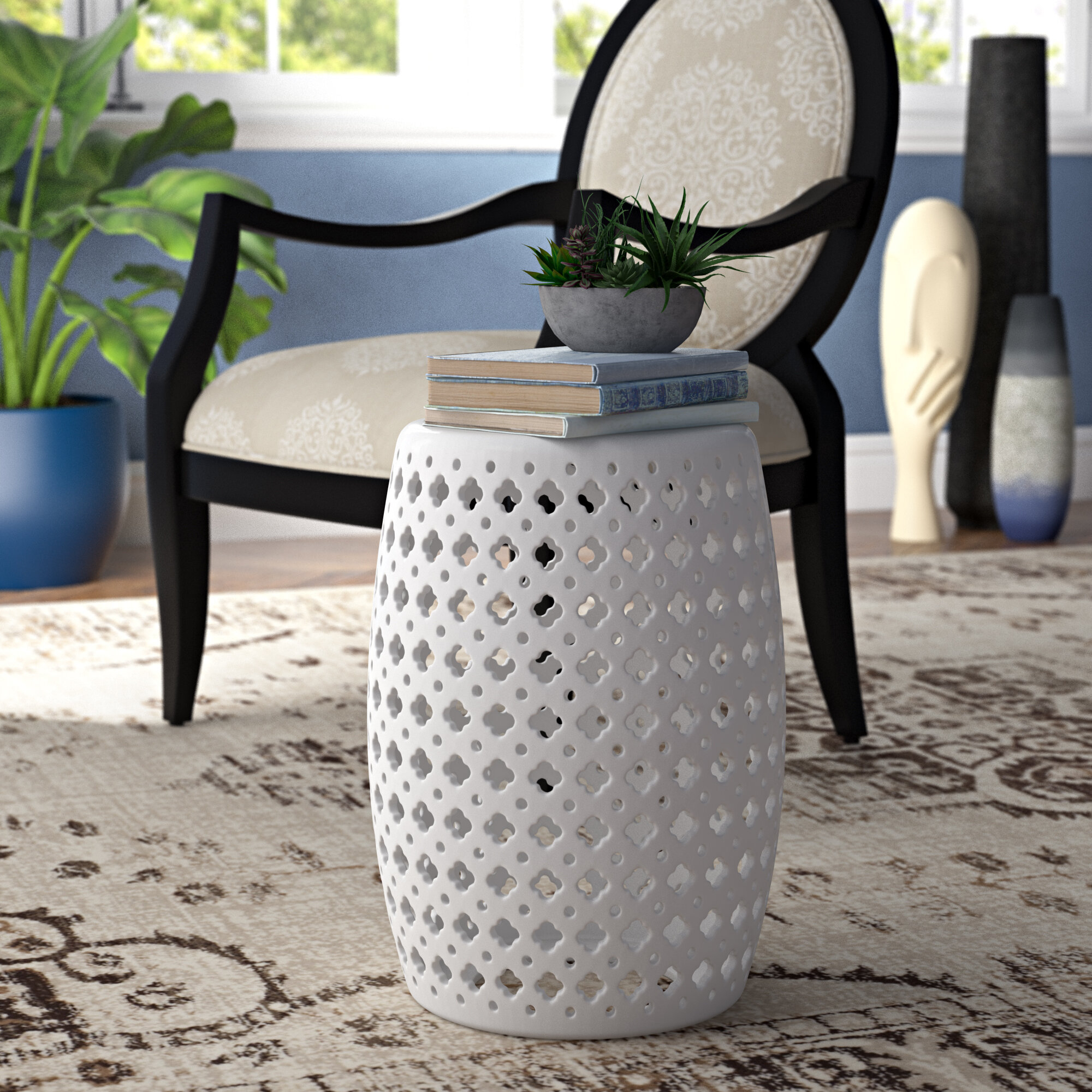 Gisella Garden Stool In Canarsie Ceramic Garden Stools (View 11 of 25)
