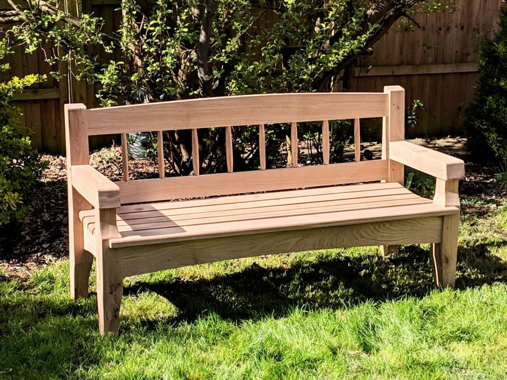 Grass Needs Mowing – Paul Sellers' Blog With Pauls Steel Garden Benches (View 6 of 25)