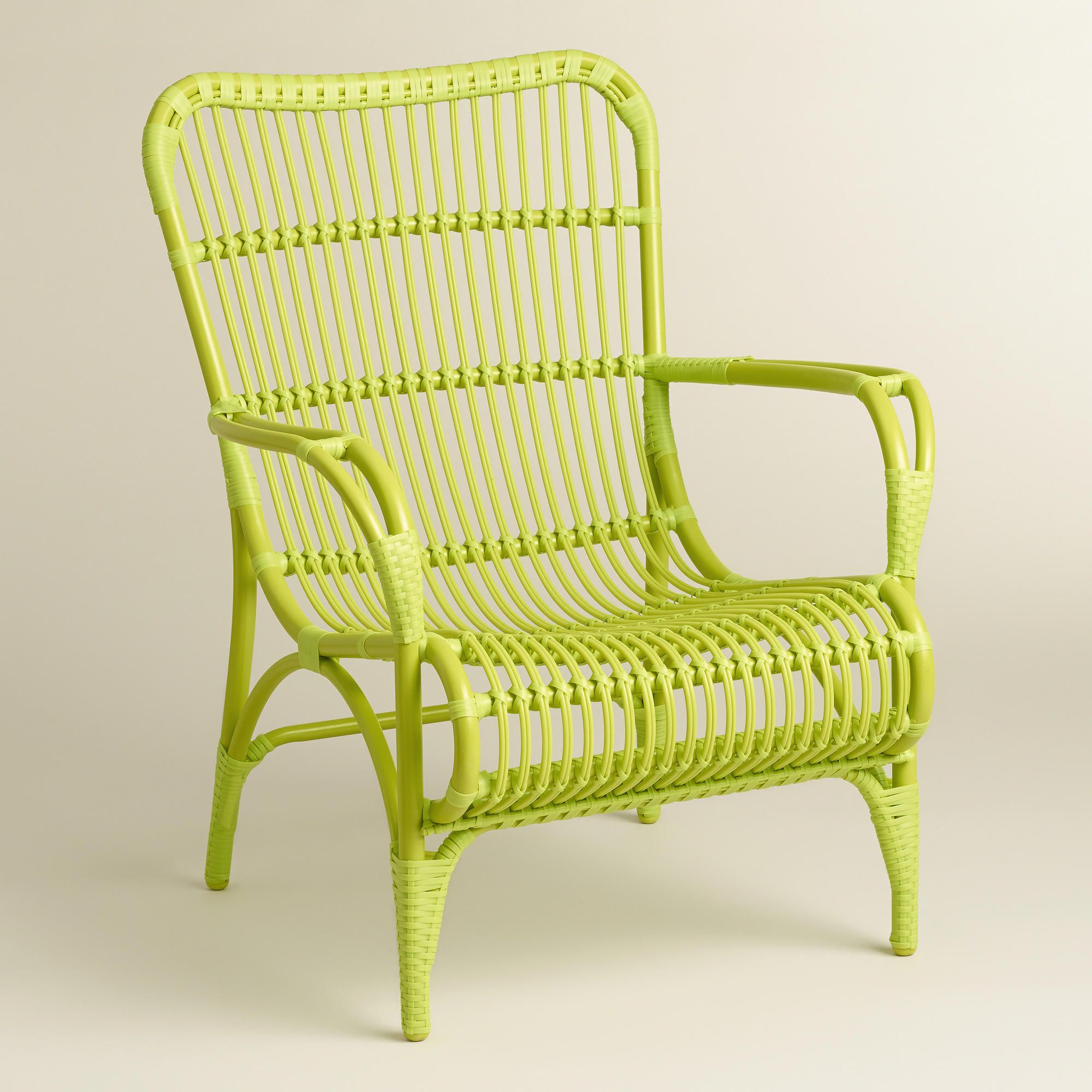 Green Hanalei Occasional Chairs, Set Of 2 | Occasional Throughout Heslin Steel Park Benches (View 17 of 25)