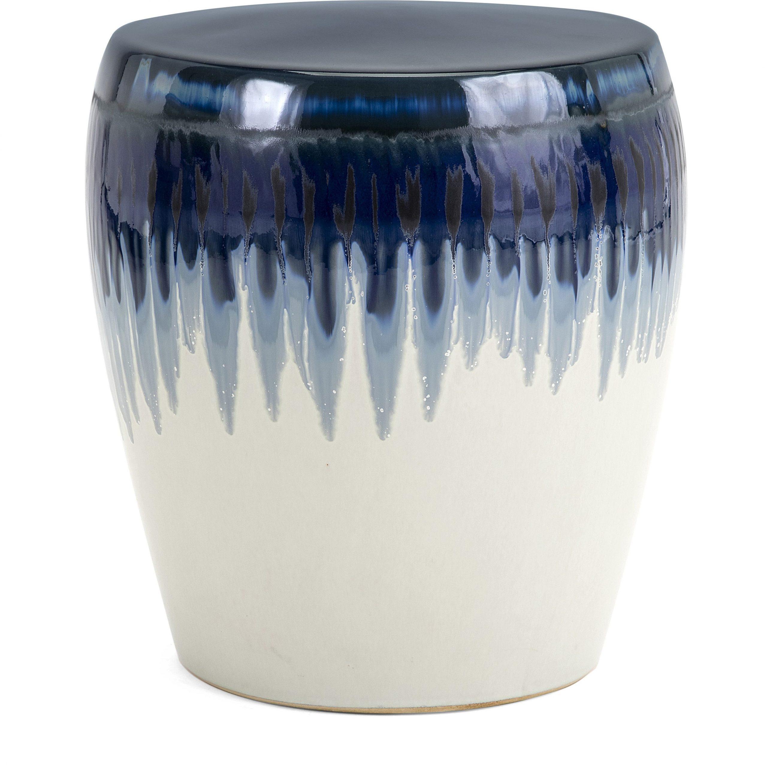 Hamako Ceramic Garden Stool Imax Imax 13724 | Ceramic Stool Throughout Ceramic Garden Stools (View 21 of 25)