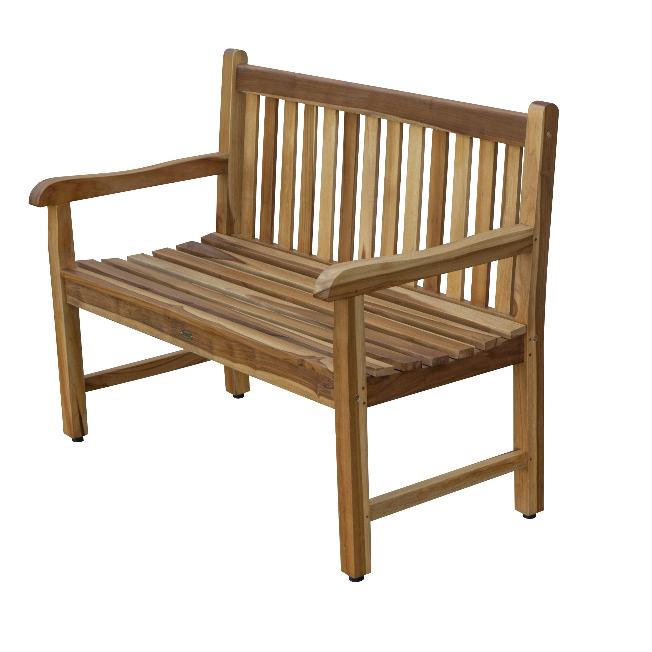 Hampstead Heath Teak Garden Bench Pertaining To Harpersfield Wooden Garden Benches (View 7 of 25)
