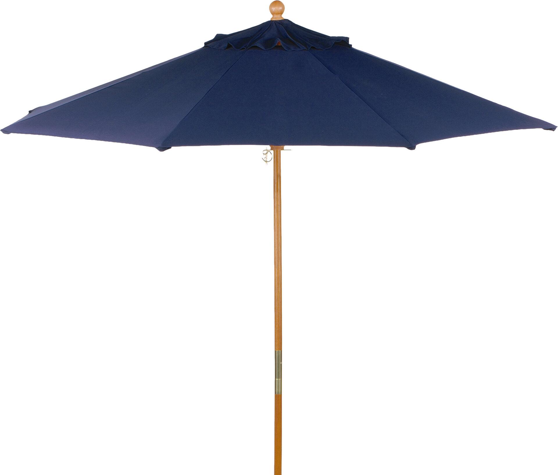 Harpersfield 9' Market Umbrella With Harpersfield Wooden Garden Benches (View 24 of 25)
