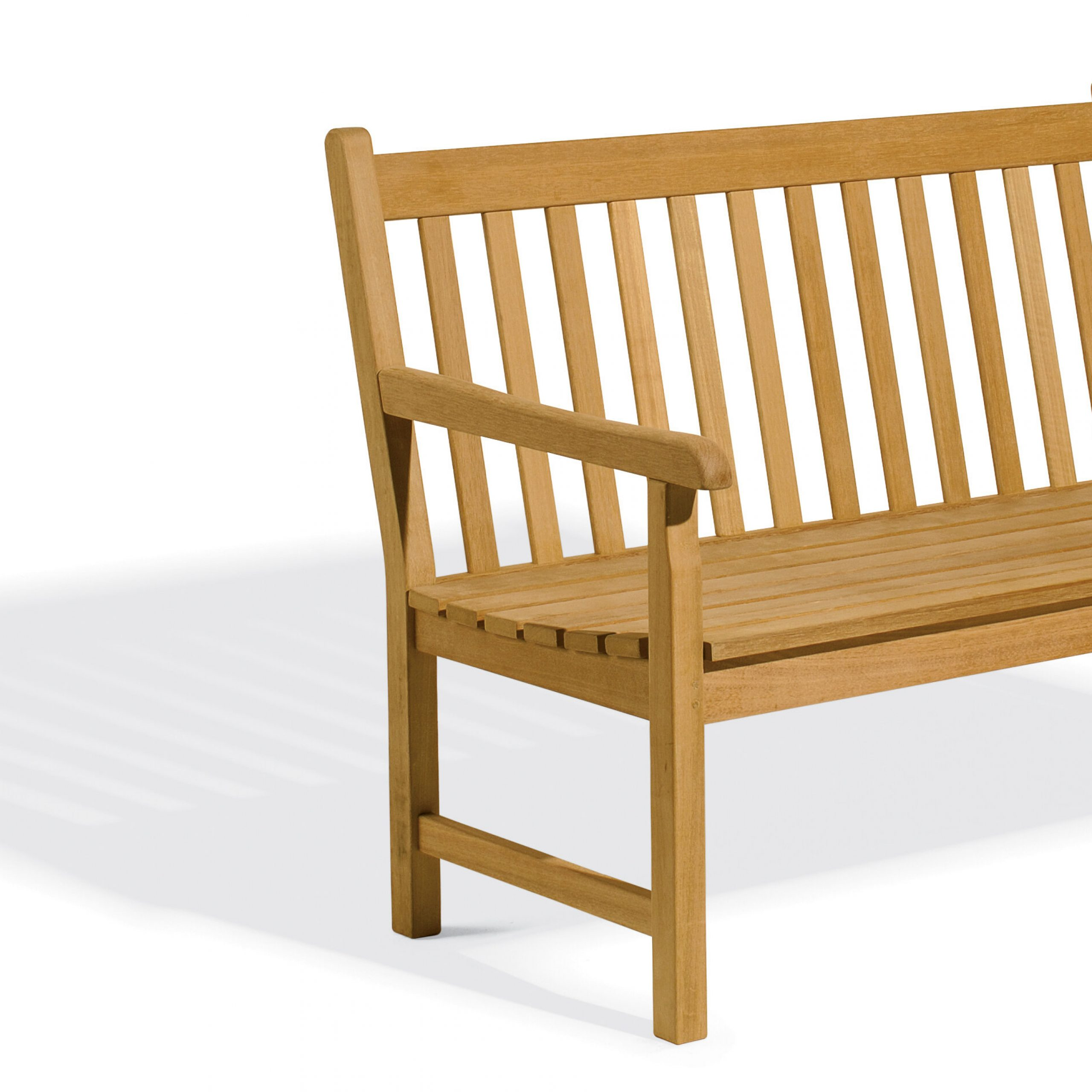 Featured Image of Harpersfield Wooden Garden Benches