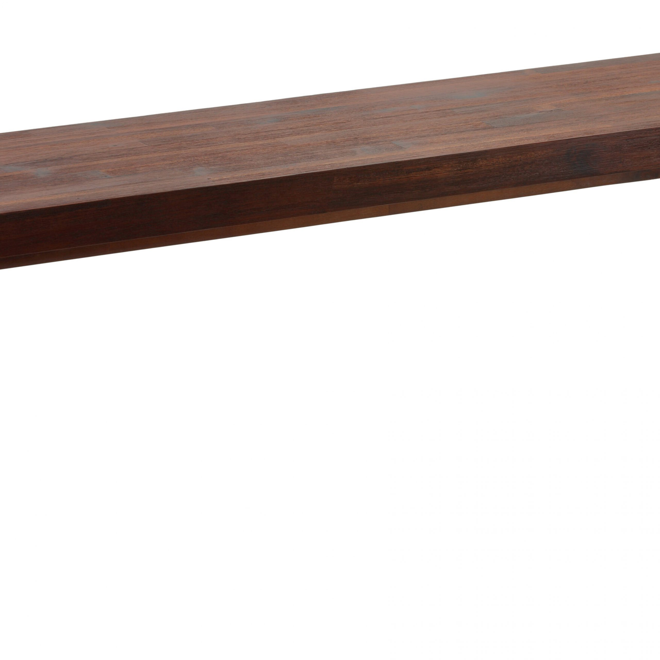 Hebden Solid Wood Bench Pertaining To Walnut Solid Wood Garden Benches (View 5 of 25)
