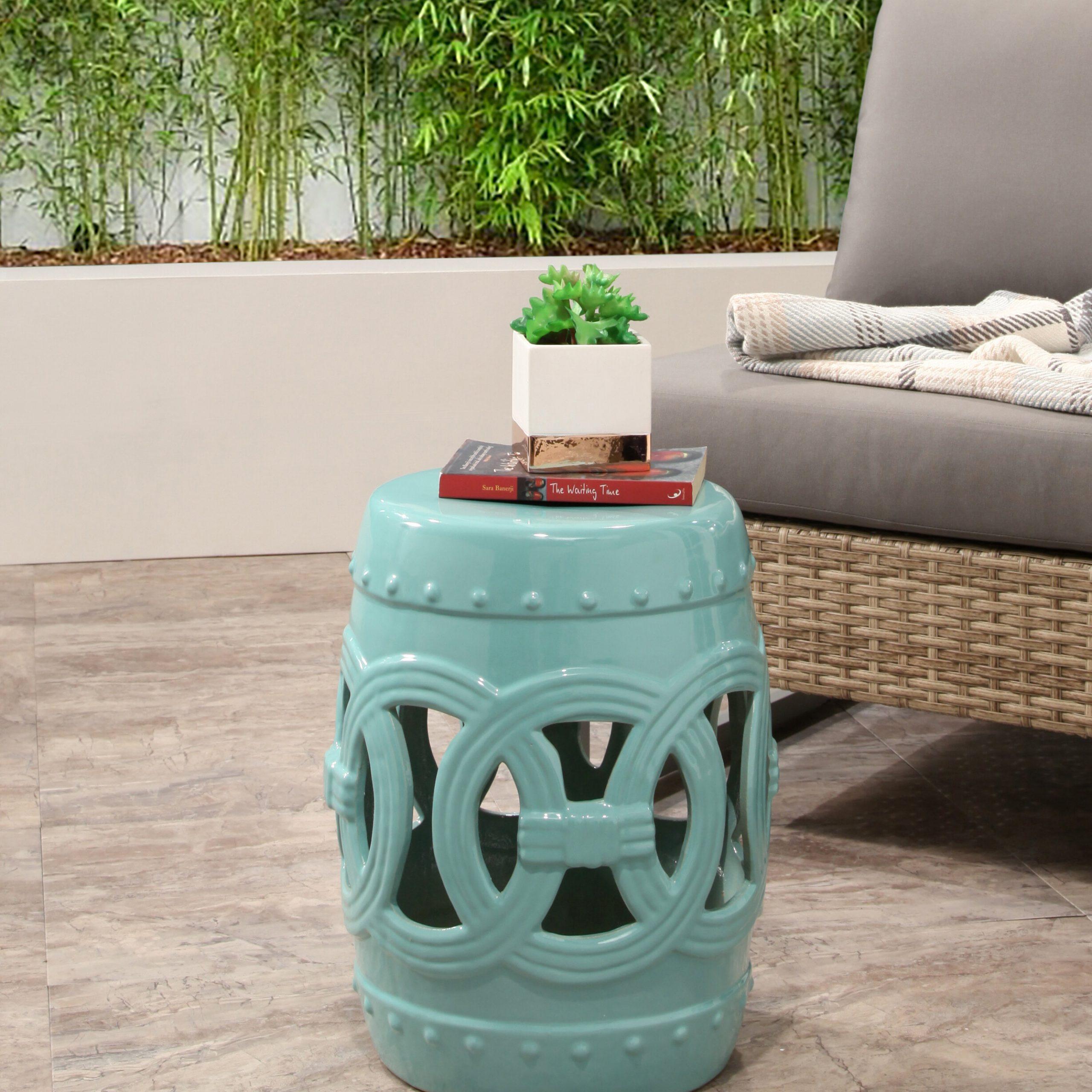 Holbeach Ceramic Garden Stool With Aloysius Ceramic Garden Stools (View 17 of 25)