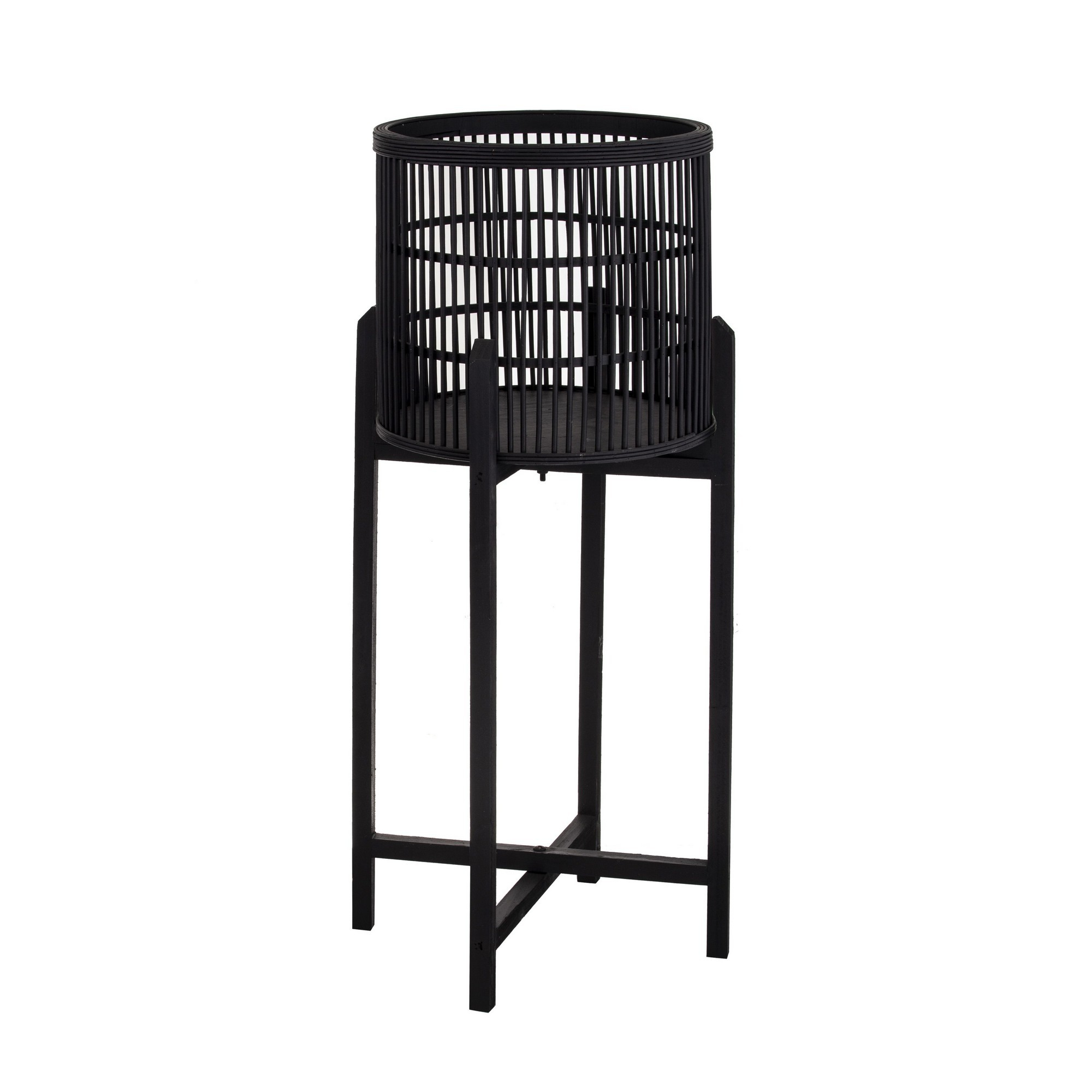 Holbrook Bamboo Planter Stand, Large In Holbrook Ceramic Garden Stools (View 16 of 25)