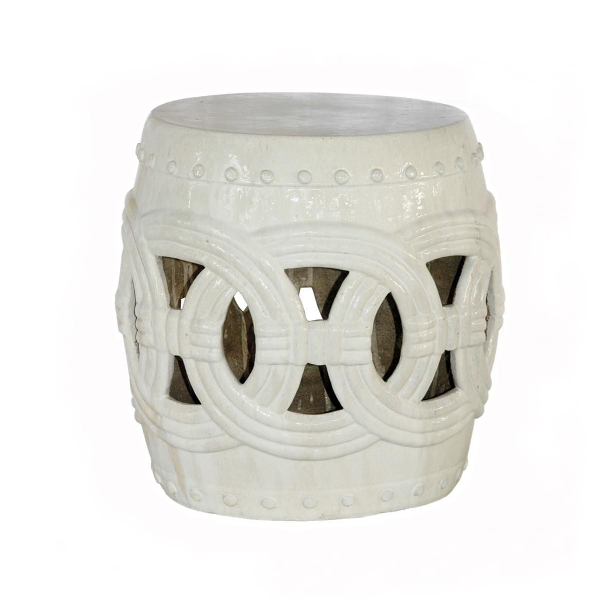 Holbrook Ceramic Garden Stool – Vozeli Inside Holbrook Ceramic Garden Stools (View 5 of 25)