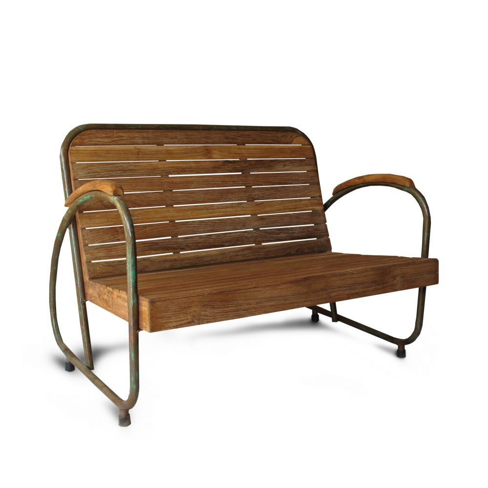 Industrial Garden Bench With Manchester Solid Wood Garden Benches (View 5 of 25)