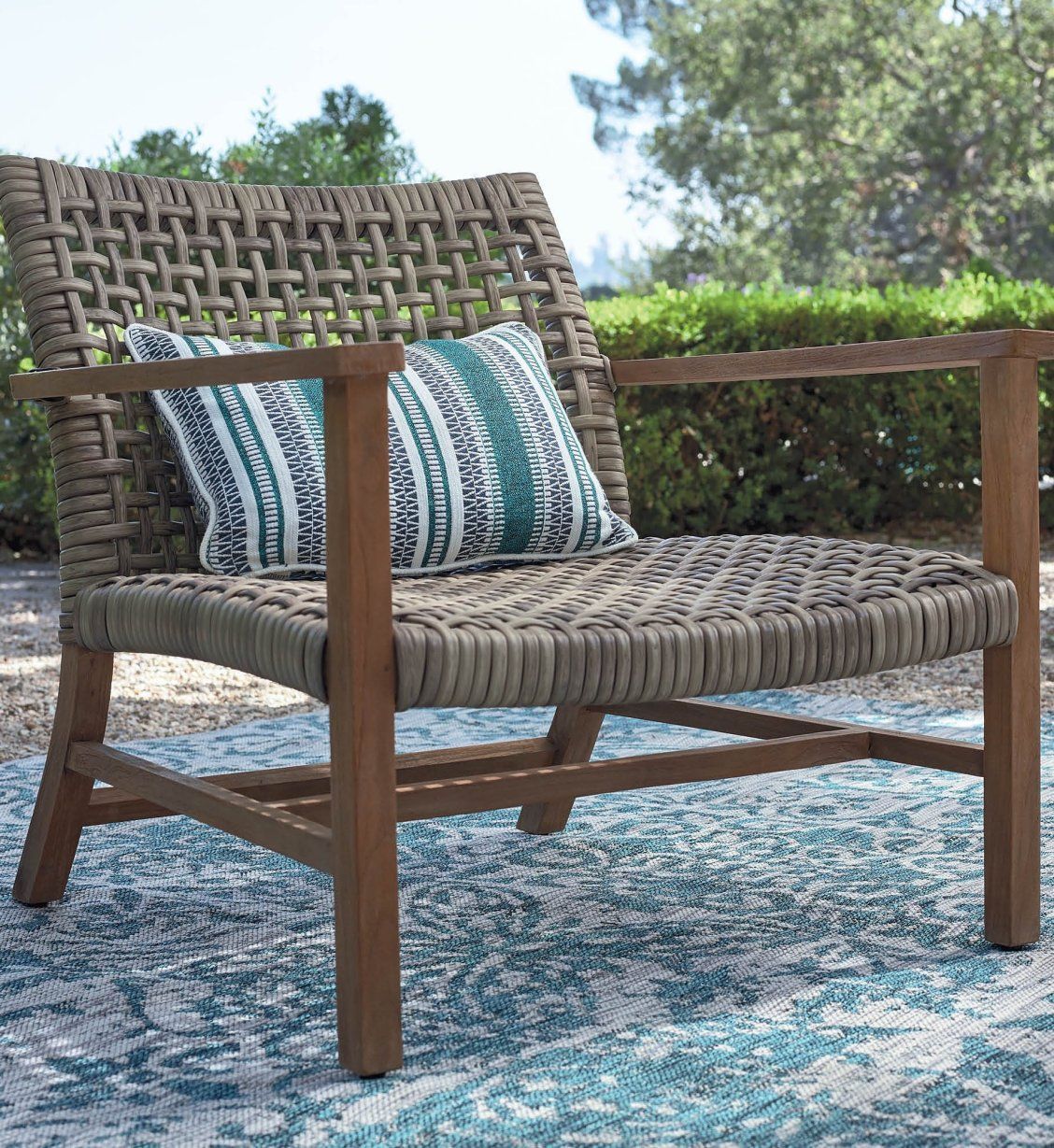 Isola Seating In Natural Finish | Frontgate In 2020 Inside Brecken Teak Garden Benches (View 21 of 25)