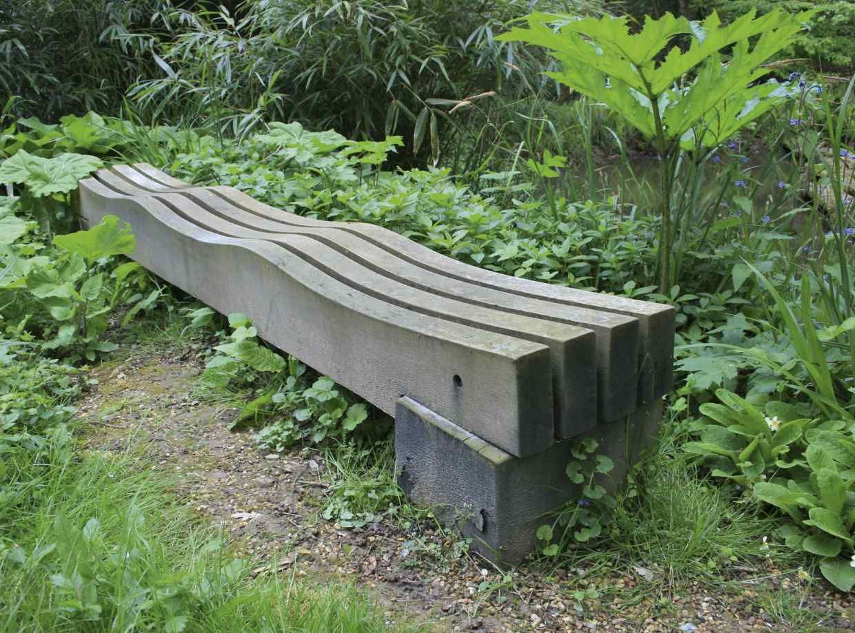 It'S The Great Wall Of Tesla | Garden Bench, Japanese Garden Intended For Pauls Steel Garden Benches (View 7 of 25)