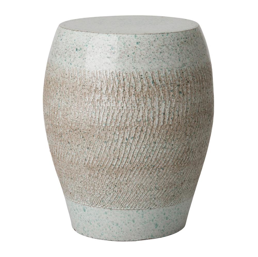 Japanese Modern Ceramic Stool Table | Pfeifer Studio Within Engelhardt Ceramic Garden Stools (View 14 of 25)