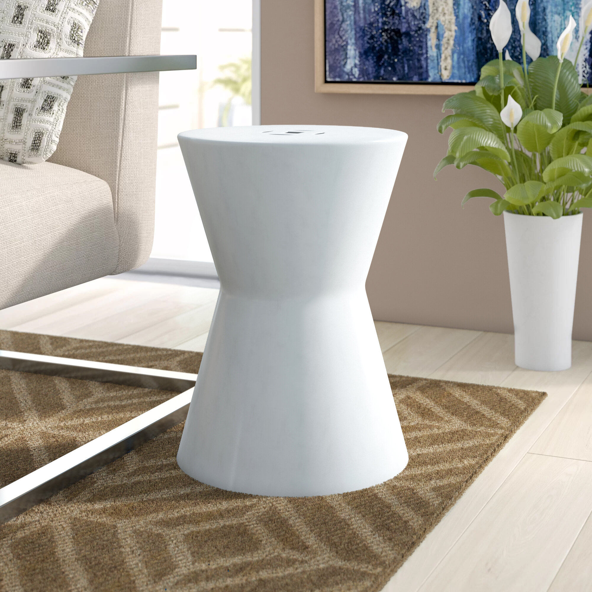 Featured Image of Karlov Ceramic Garden Stools