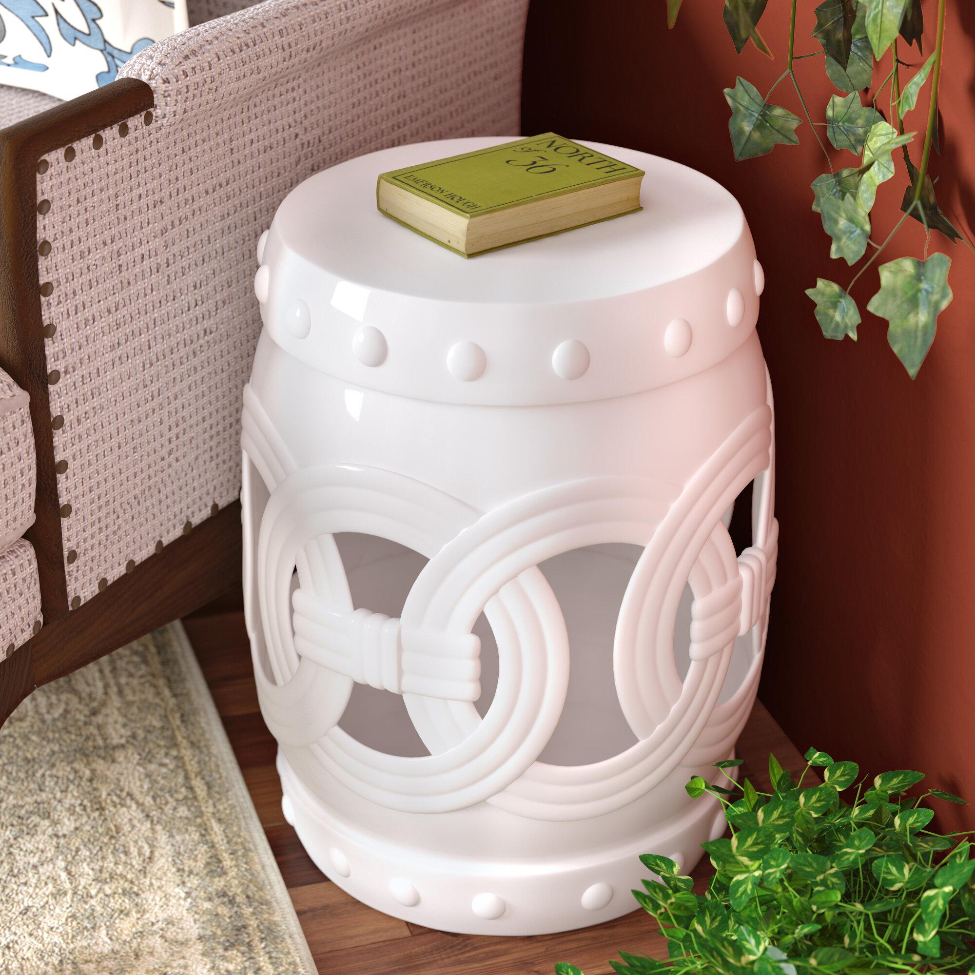 Kilpatrick Feng Shui Ceramic Garden Stool With Kujawa Ceramic Garden Stools (View 10 of 25)