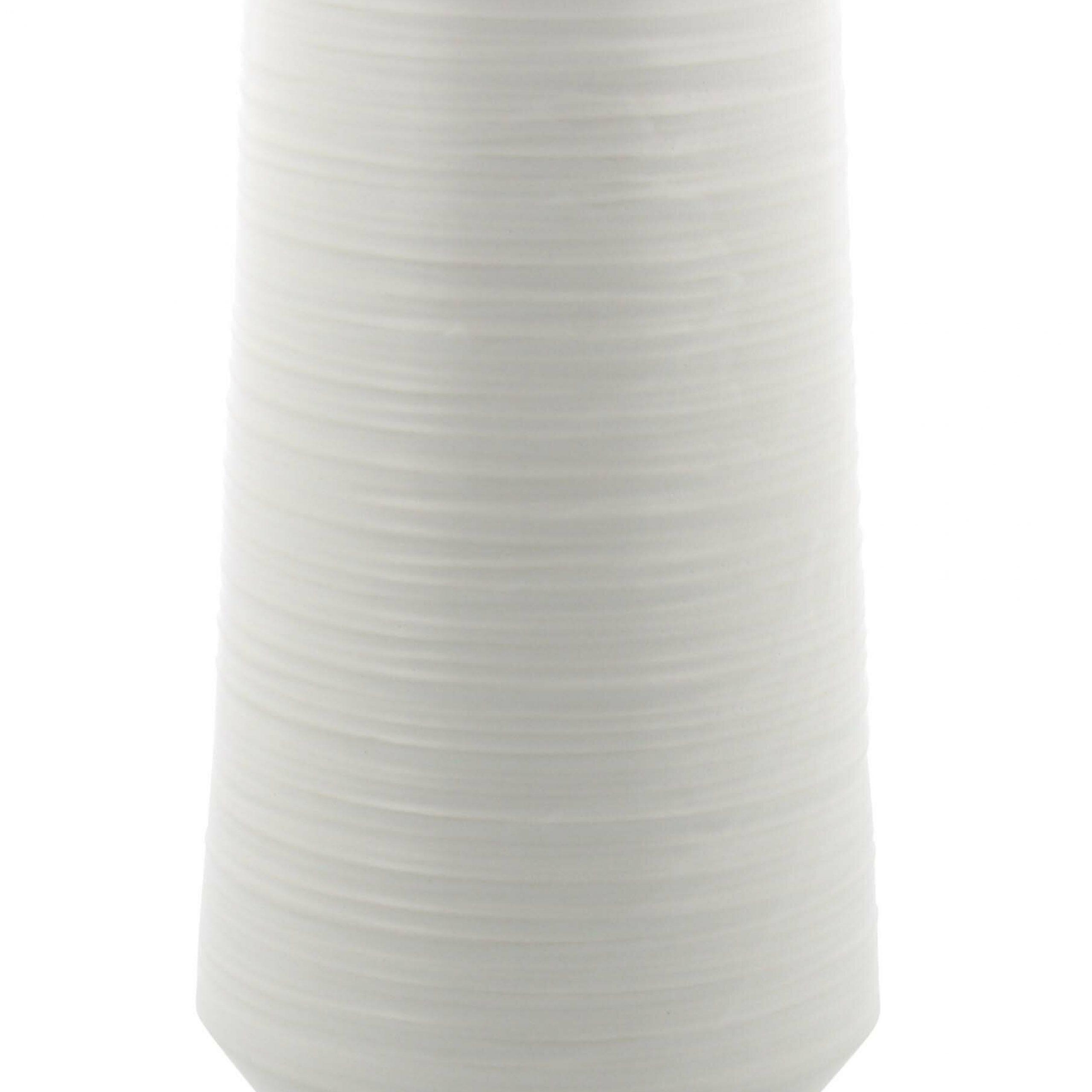 Kingsland Matte Porcelain Pear Shaped Table Vase For Aloysius Ceramic Garden Stools (View 22 of 25)