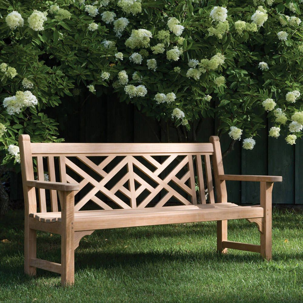 Kingsley Bate Chippendale 5' Bench In 2020 | Outdoor Decor Pertaining To Harpersfield Wooden Garden Benches (View 11 of 25)