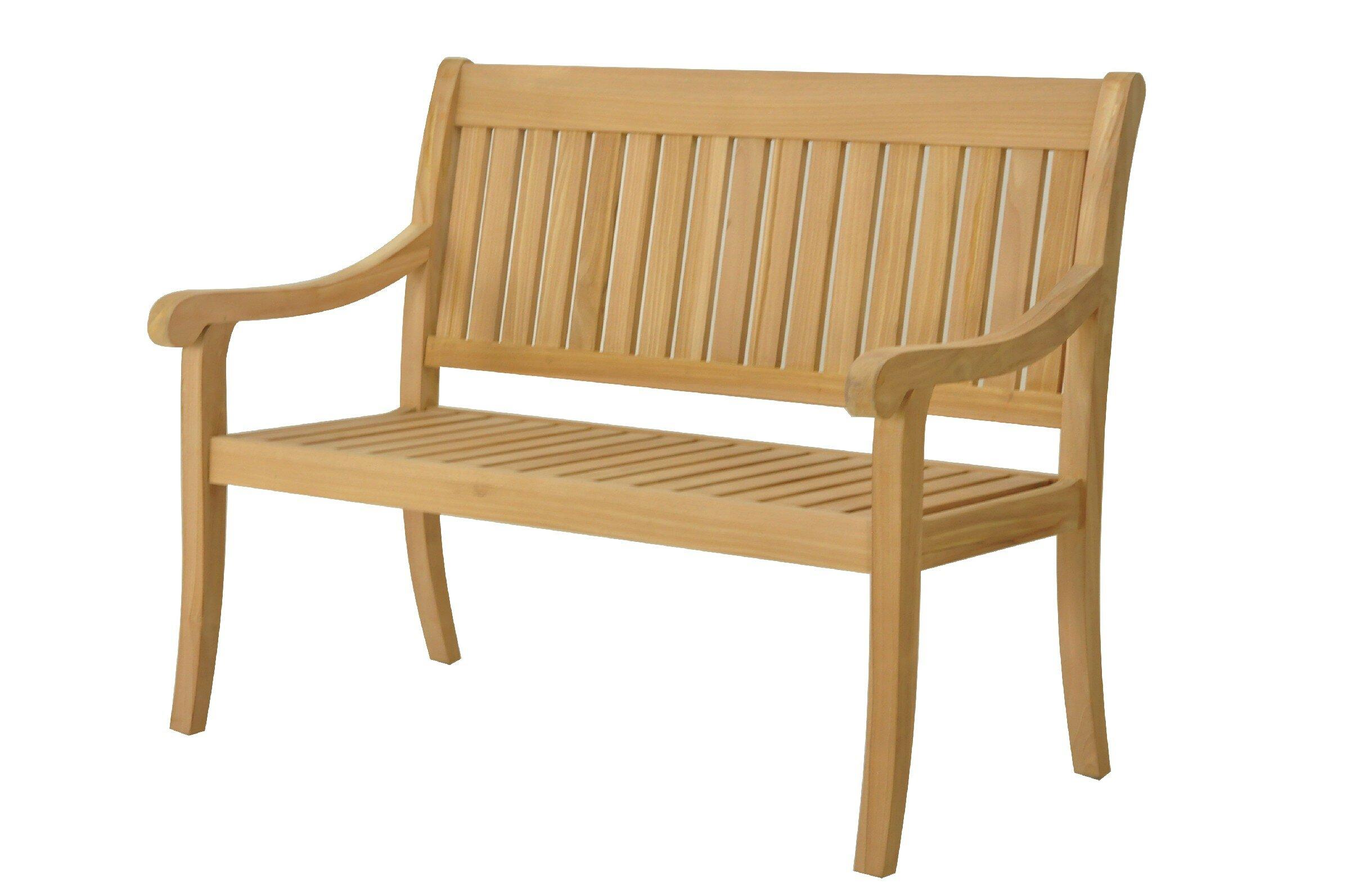 Lamanna Teak Garden Bench With Regard To Hampstead Heath Teak Garden Benches (View 4 of 25)