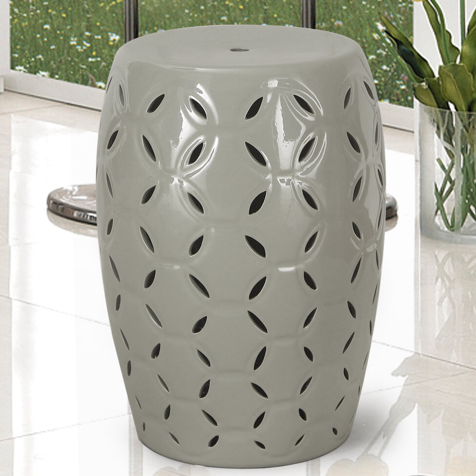 Lattice Ceramic Garden Stool With Wurster Ceramic Drip Garden Stools (View 4 of 25)