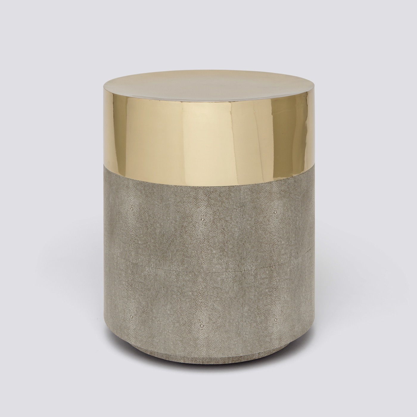 """Lavin """"Shagreen"""" Stool 