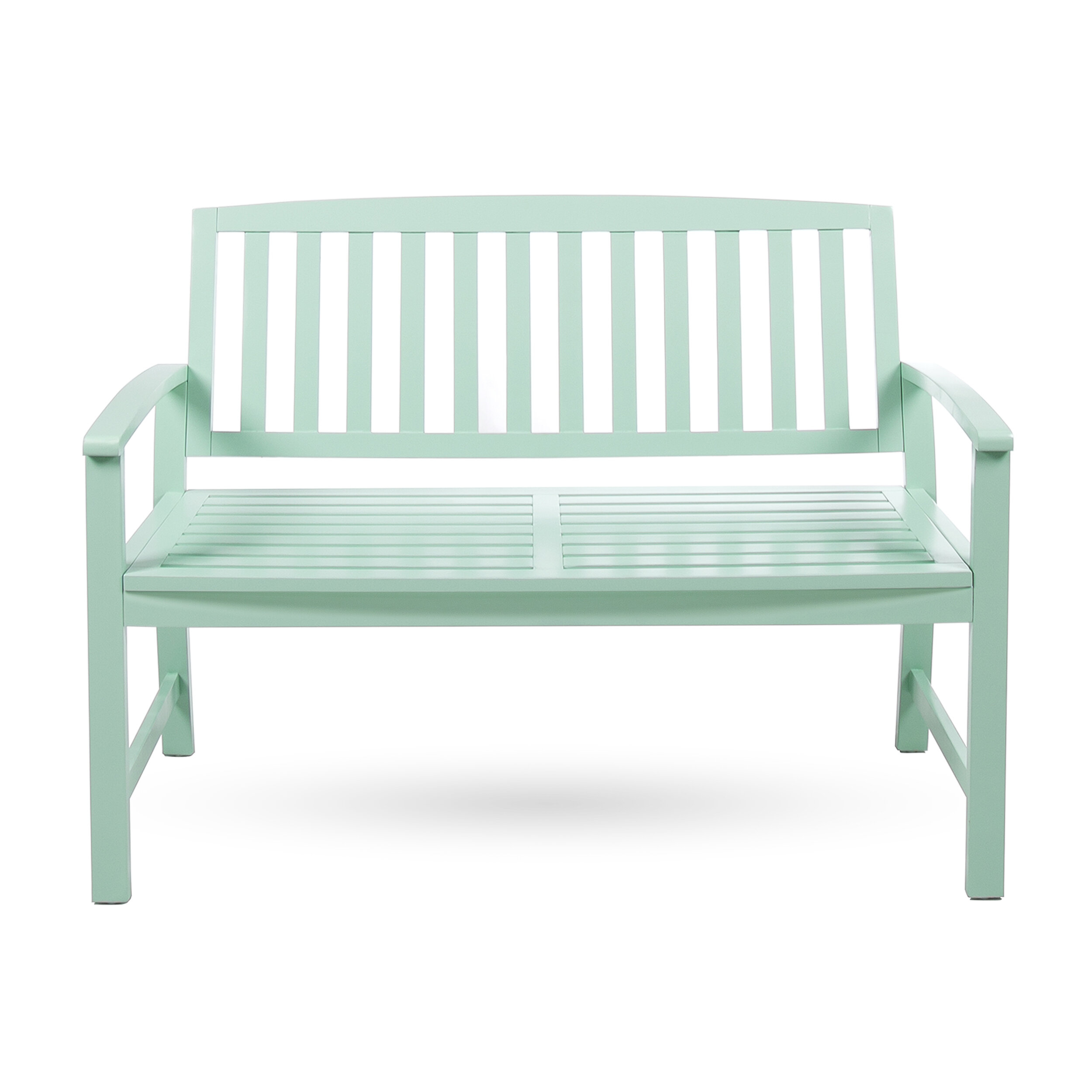 Leora Wooden Garden Bench For Alvah Slatted Cast Iron And Tubular Steel Garden Benches (View 17 of 25)