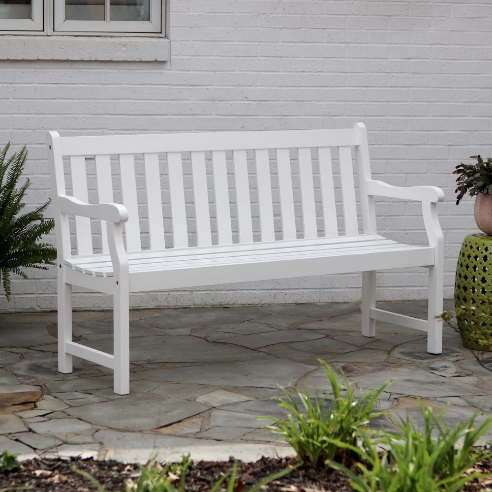 Leora Wooden Garden Bench & Reviews | Birch Lane – Vozeli For Leora Wooden Garden Benches (View 17 of 25)