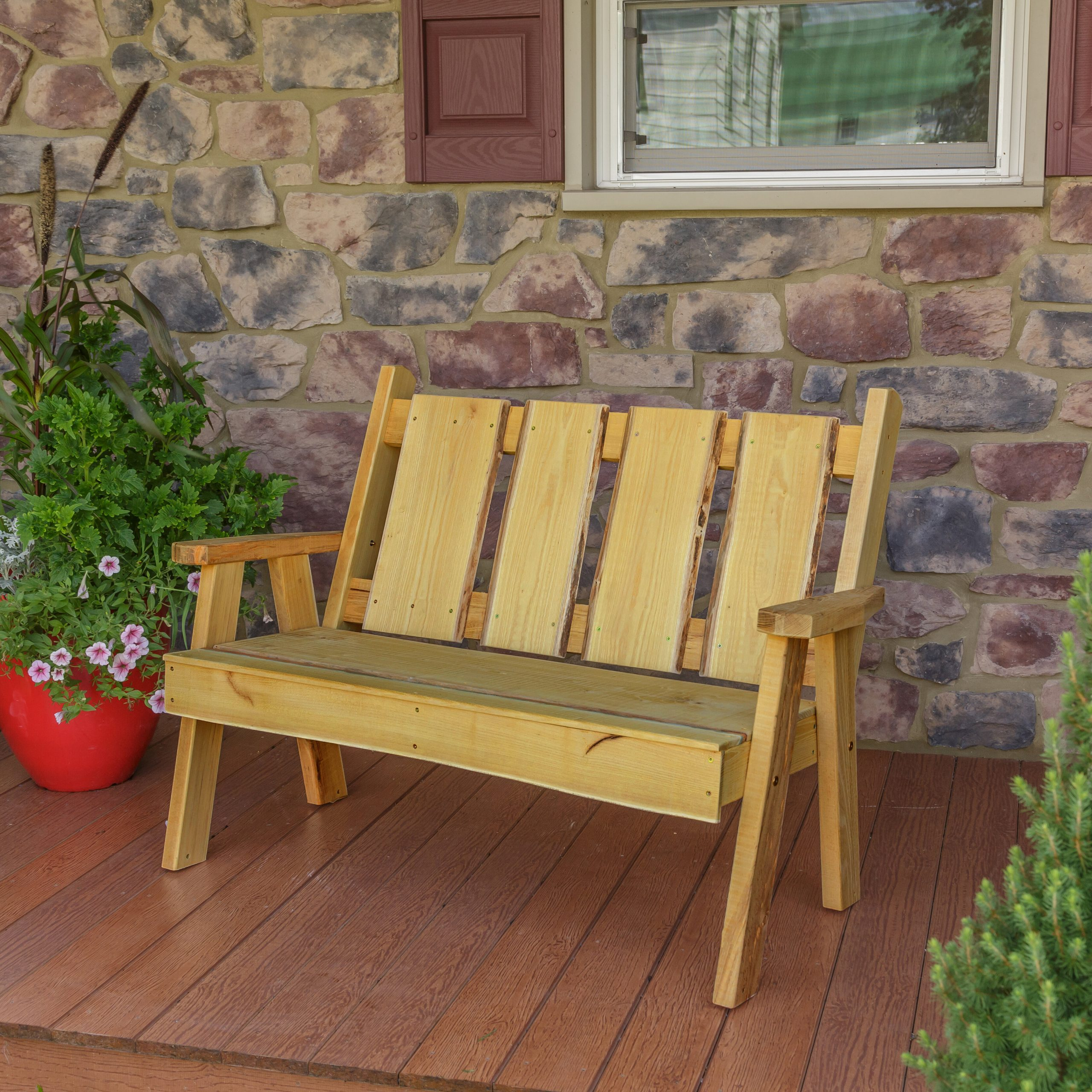 Featured Image of Lucille Timberland Wooden Garden Benches
