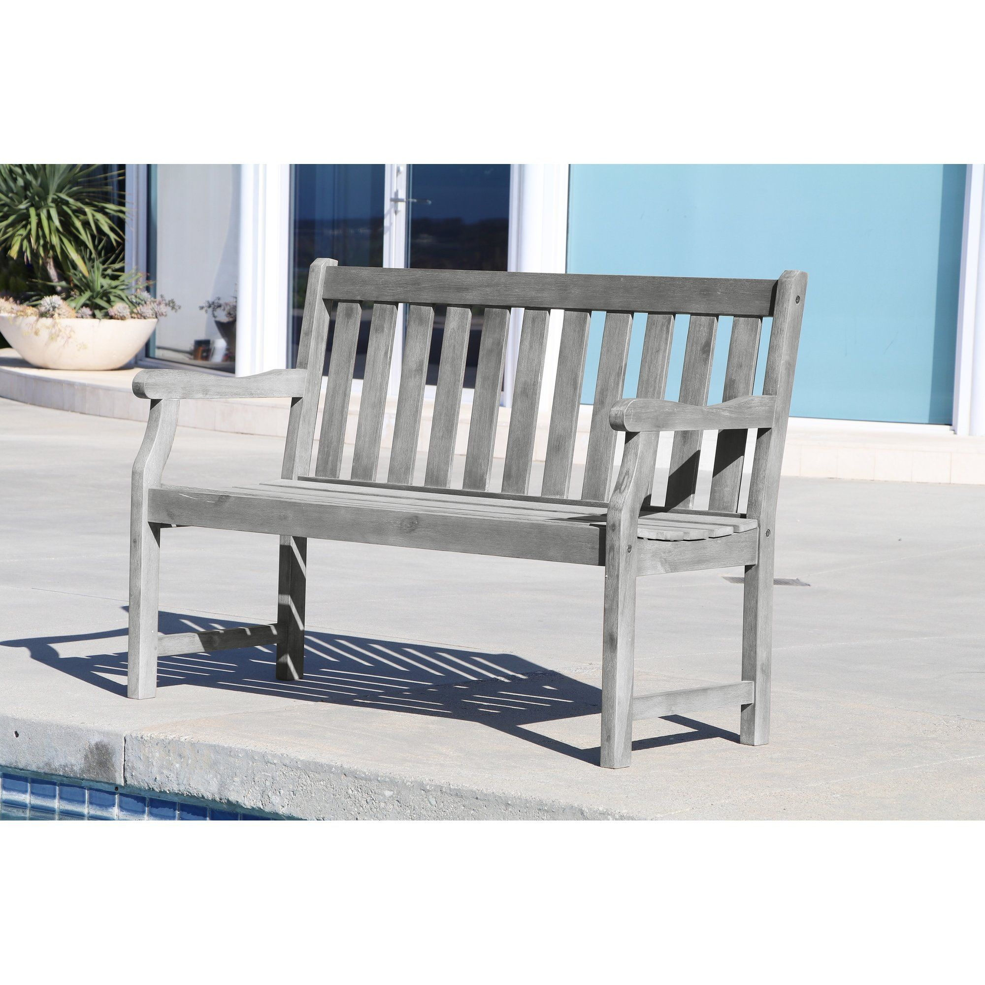 Manchester Solid Wood Garden Bench | Wooden Garden Benches Pertaining To Manchester Solid Wood Garden Benches (View 3 of 25)