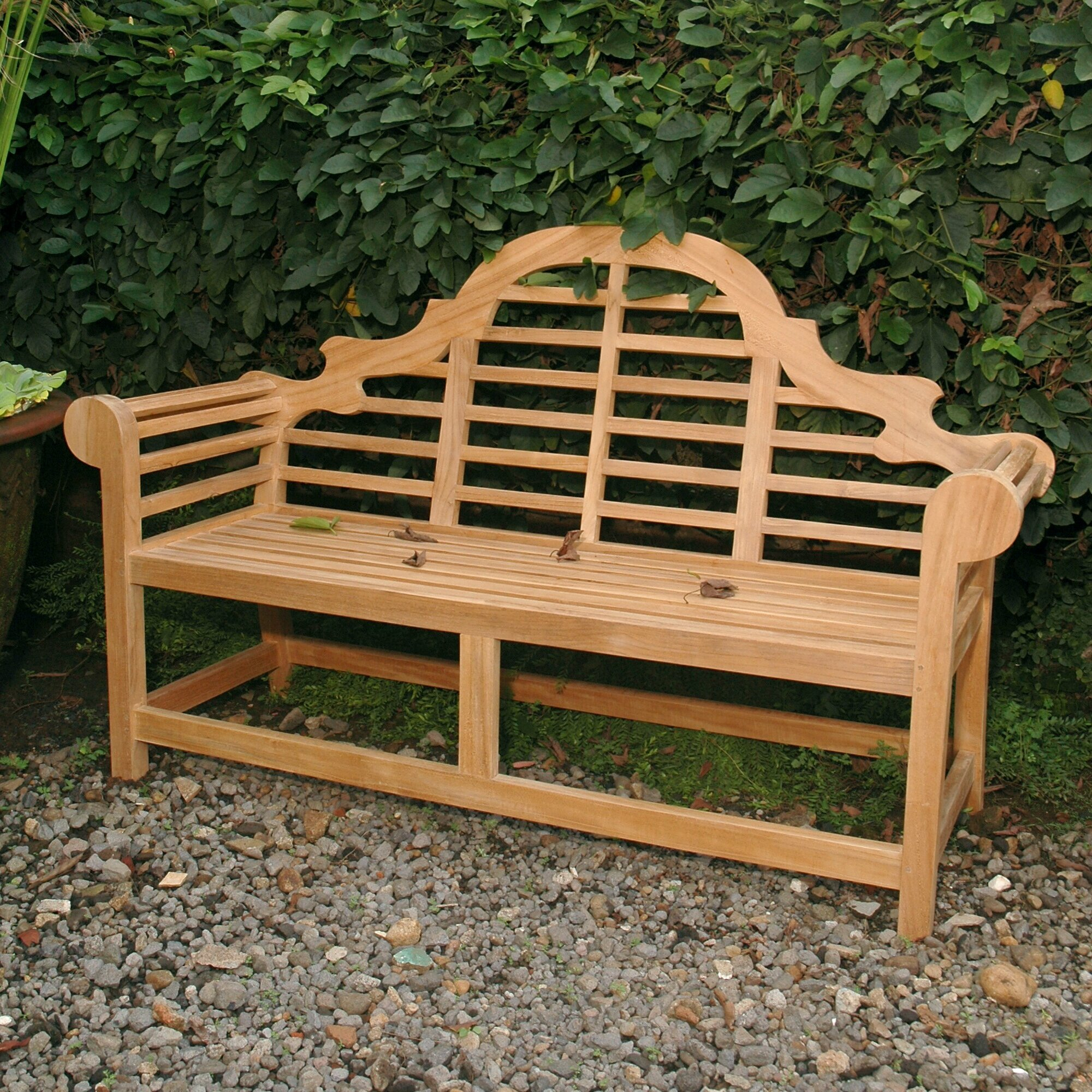 Marlborough Teak Garden Bench Throughout Wallie Teak Garden Benches (View 4 of 25)