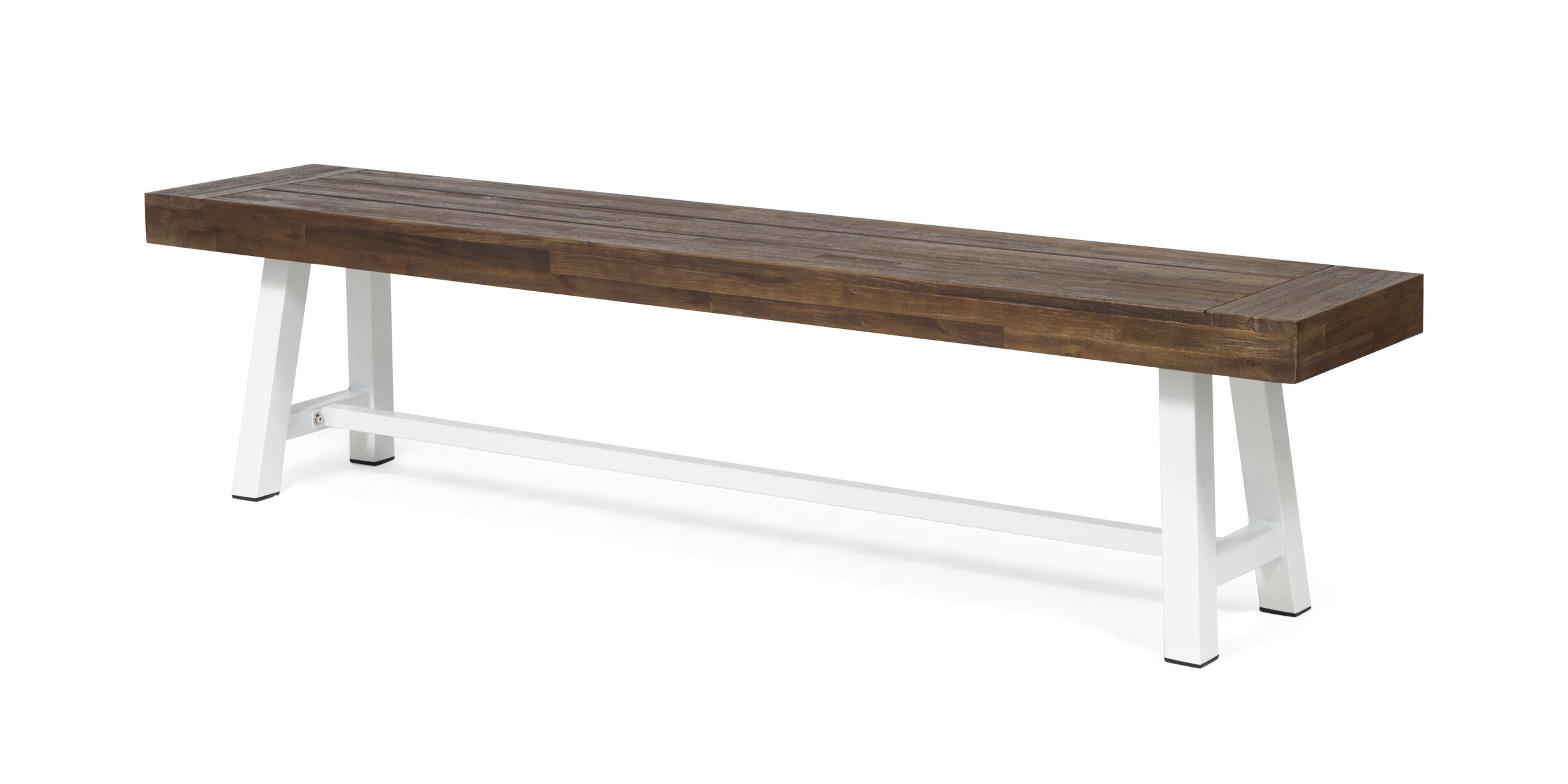 Meghans Outdoor Wooden And Iron Picnic Bench For Ossu Iron Picnic Benches (View 3 of 25)