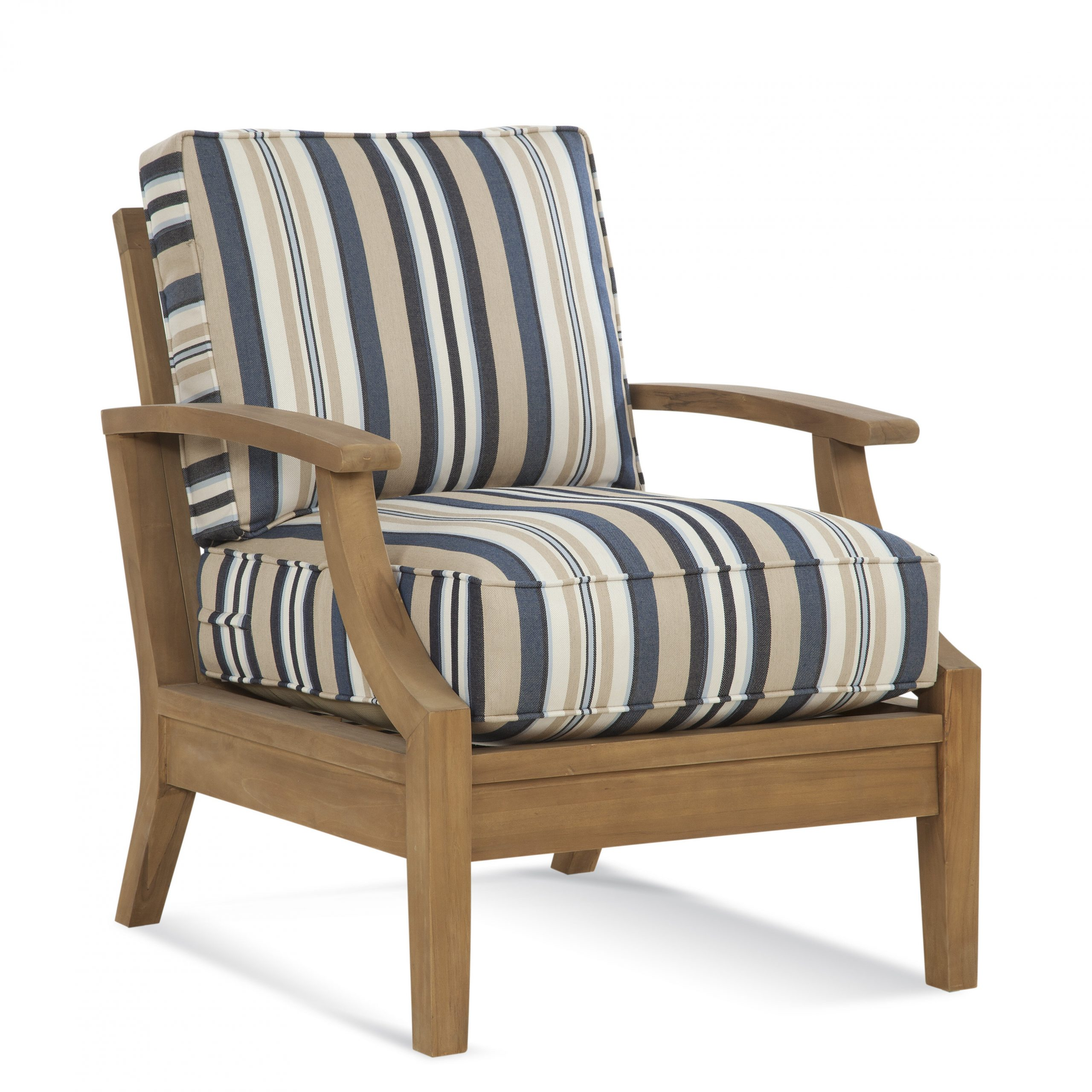 Messina Teak Patio Chair With Cushions For Messina Garden Stools Set (Set Of 2) (View 16 of 25)