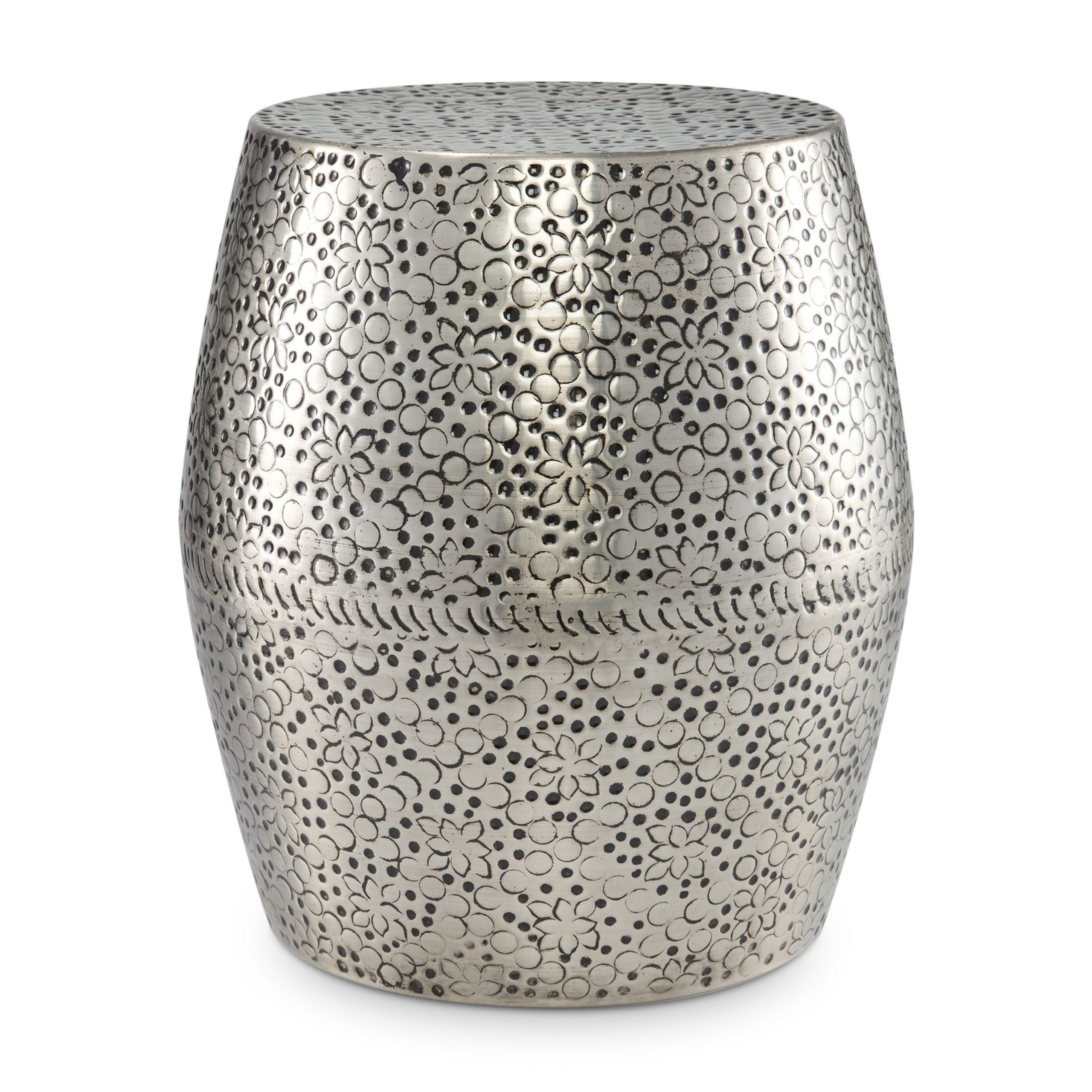 Modrn Glam Round Faux Marble Outdoor Garden Stool – Walmart In Carmon Ceramic Garden Tool (View 13 of 25)